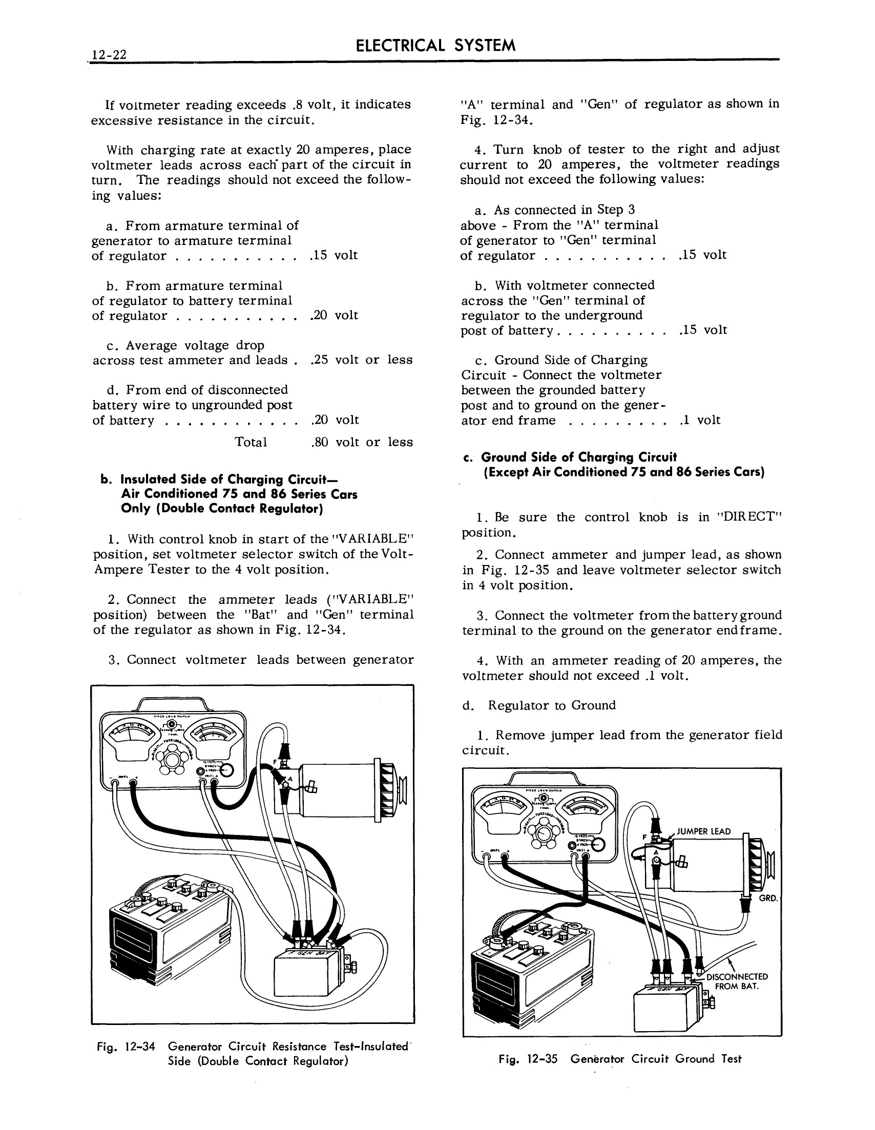 1957 Cadillac Shop Manual- Electrical Systems Page 22 of 50