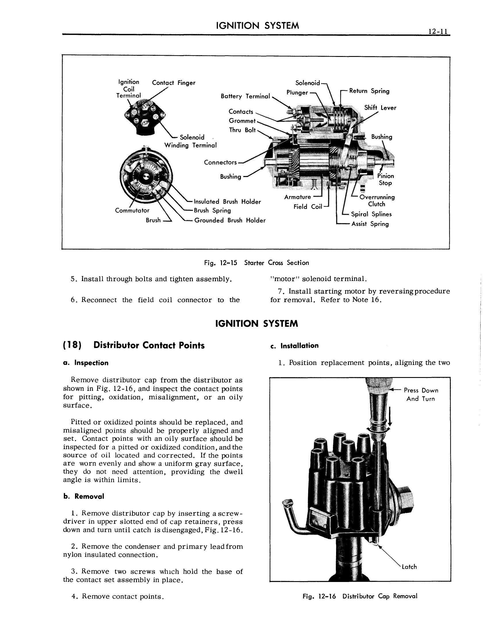 1957 Cadillac Shop Manual- Electrical Systems Page 11 of 50