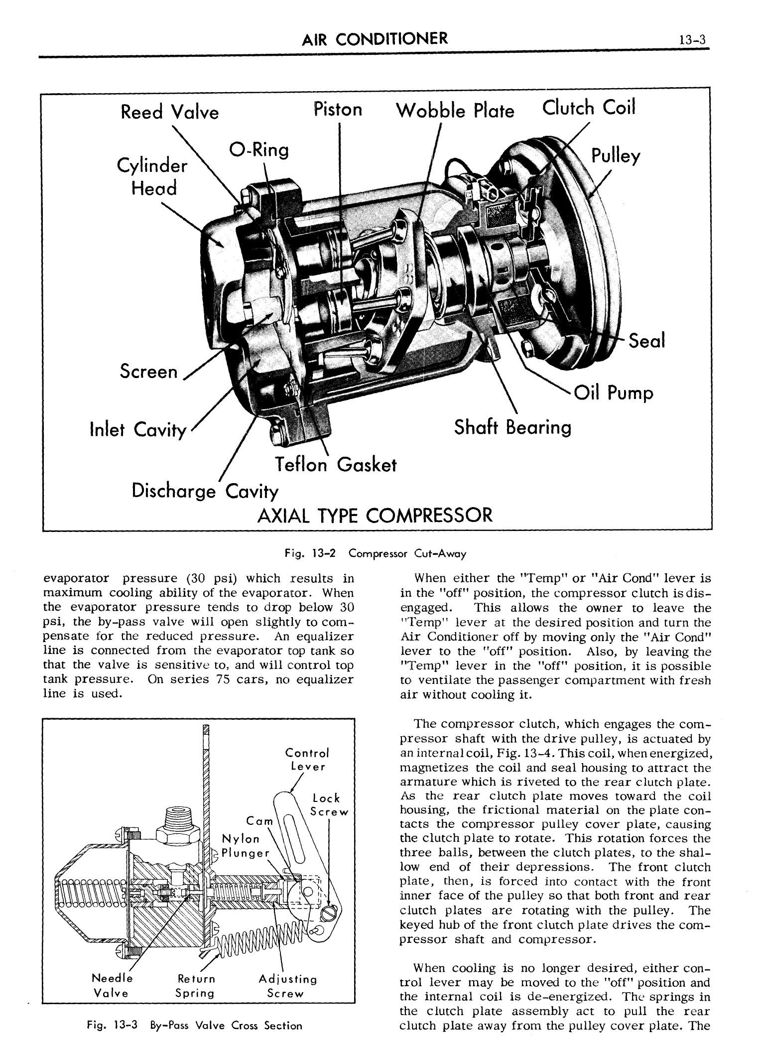 1957 Cadillac Shop Manual- Air Conditioner Page 3 of 22