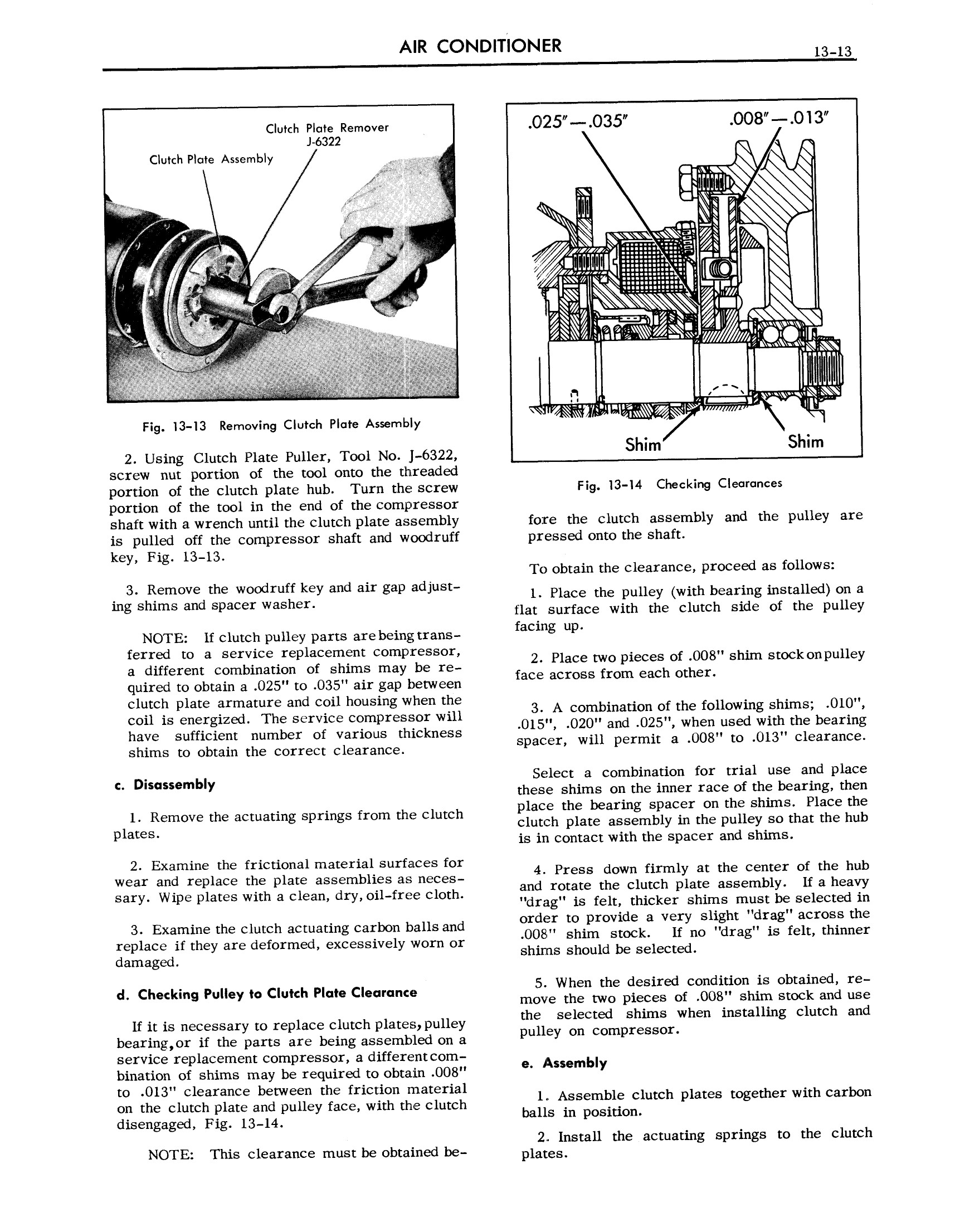 1957 Cadillac Shop Manual- Air Conditioner Page 13 of 22
