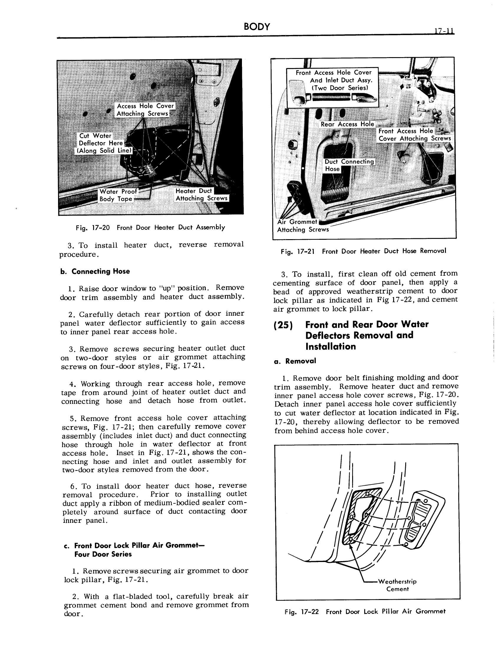 1957 Cadillac Shop Manual- Body Page 11 of 76