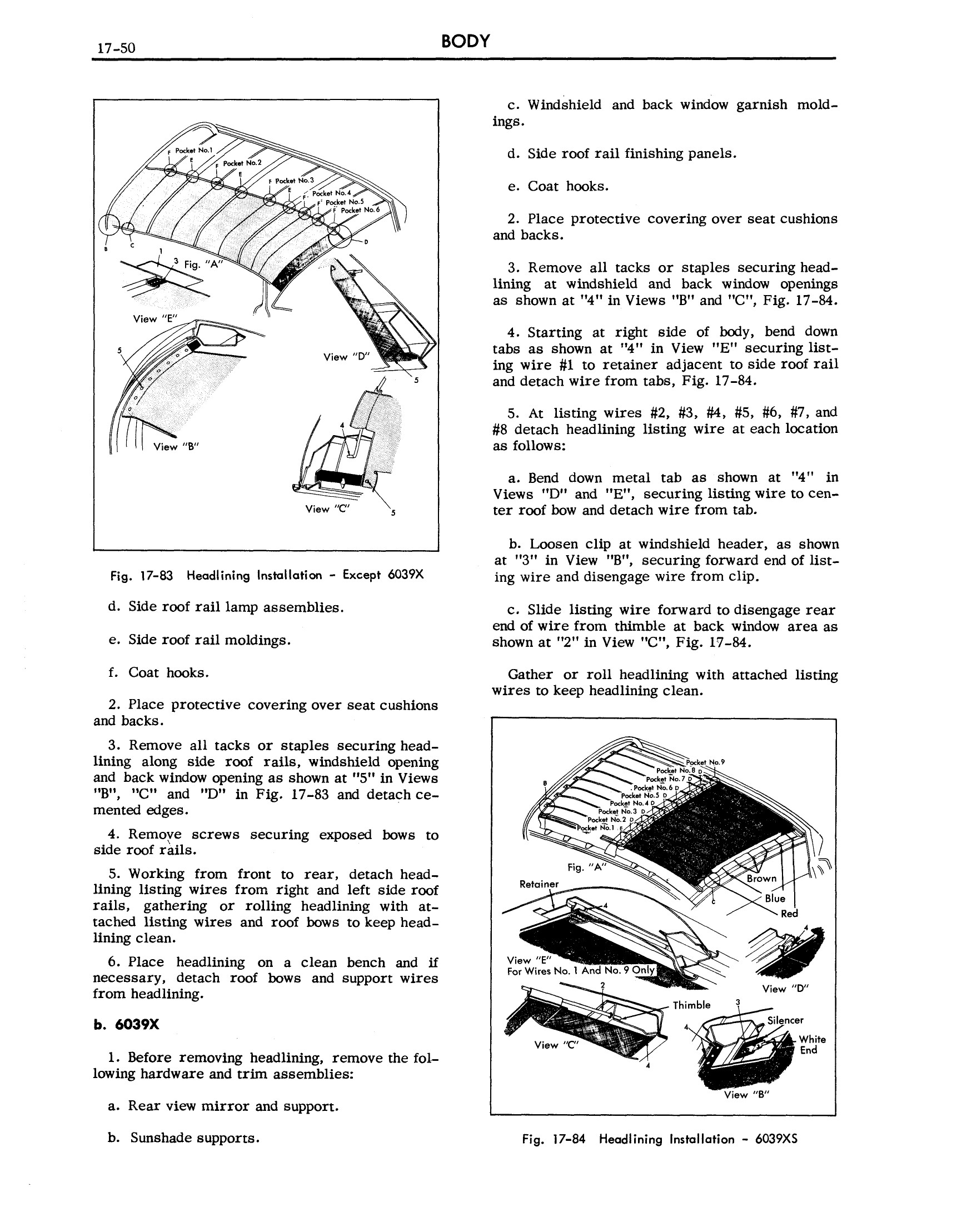 1957 Cadillac Shop Manual- Body Page 50 of 76