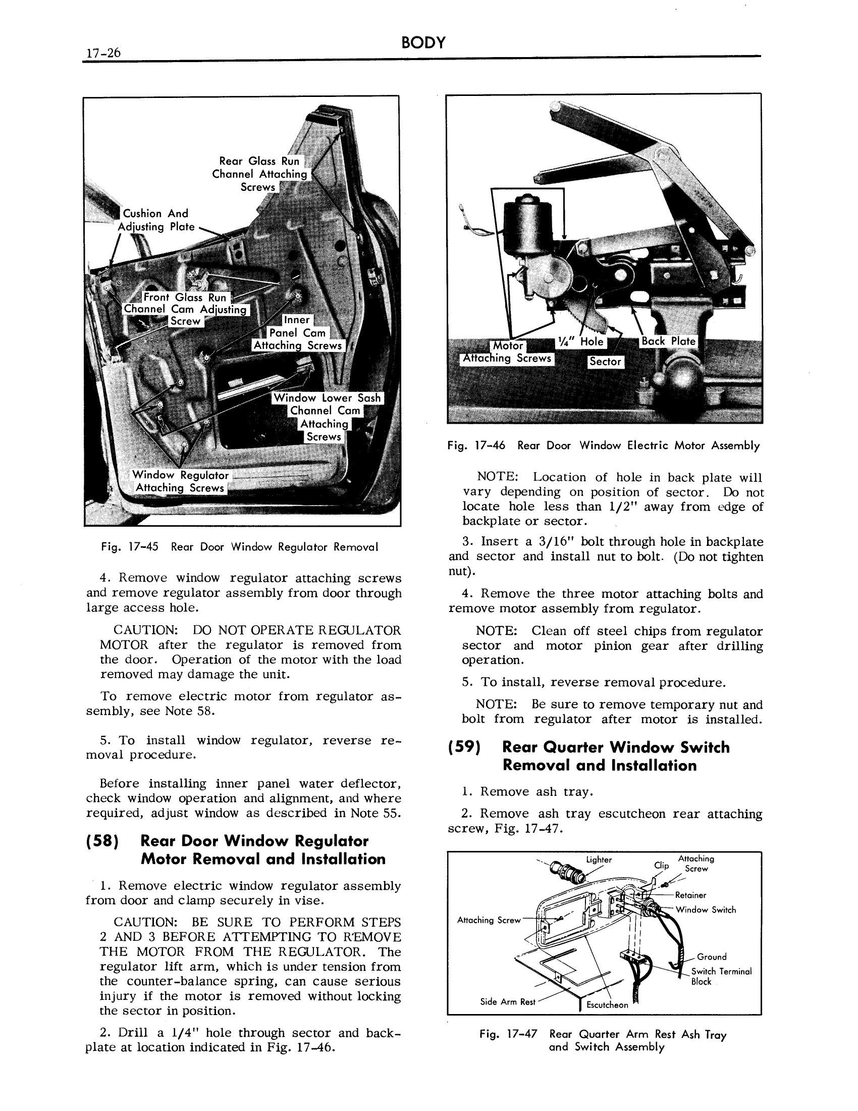 1957 Cadillac Shop Manual- Body Page 26 of 76