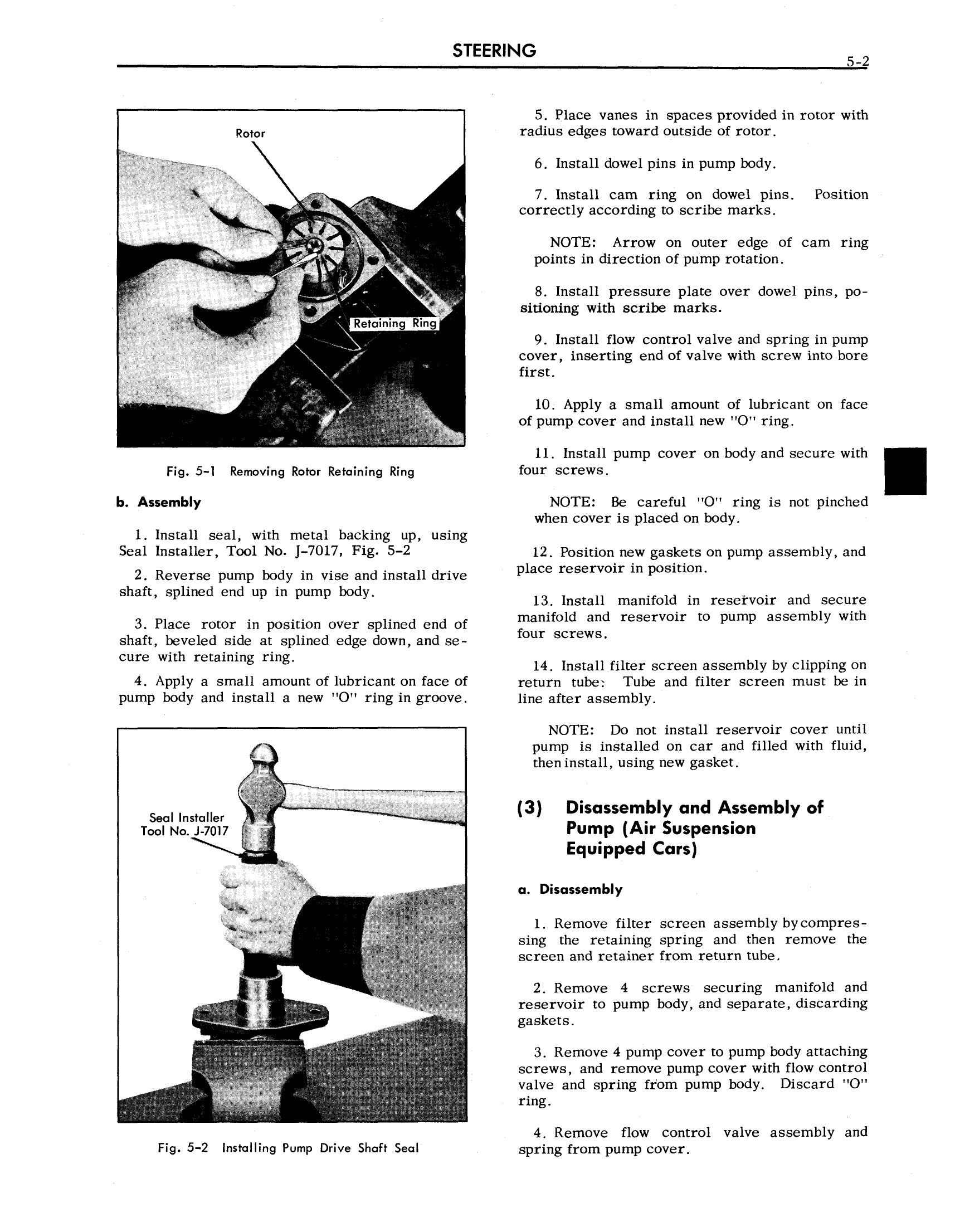 1958 Cadillac Shop Manual- Steering Page 2 of 4