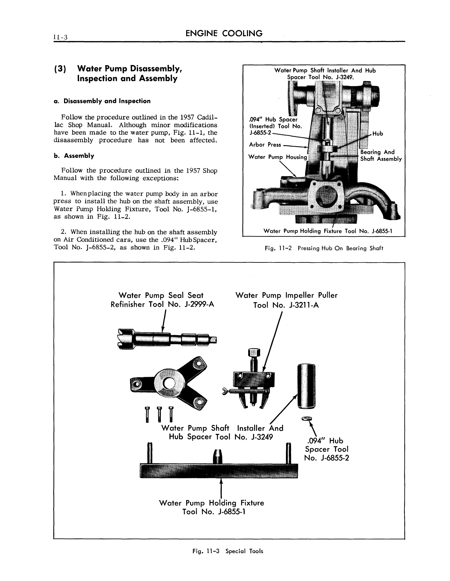 1958 Cadillac Shop Manual- Engine Cooling Page 3 of 4