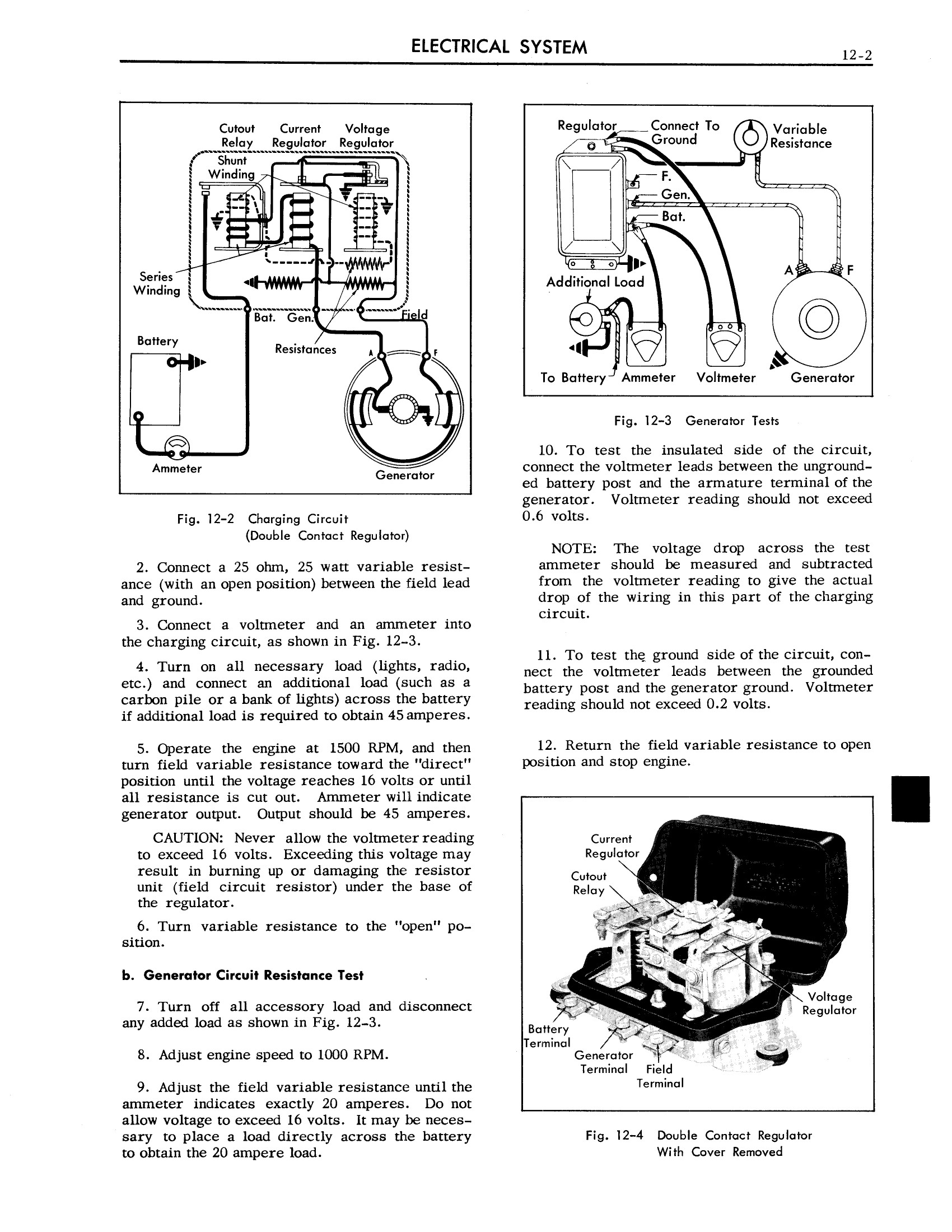 1958 Cadillac Shop Manual- Electrical System Page 2 of 23