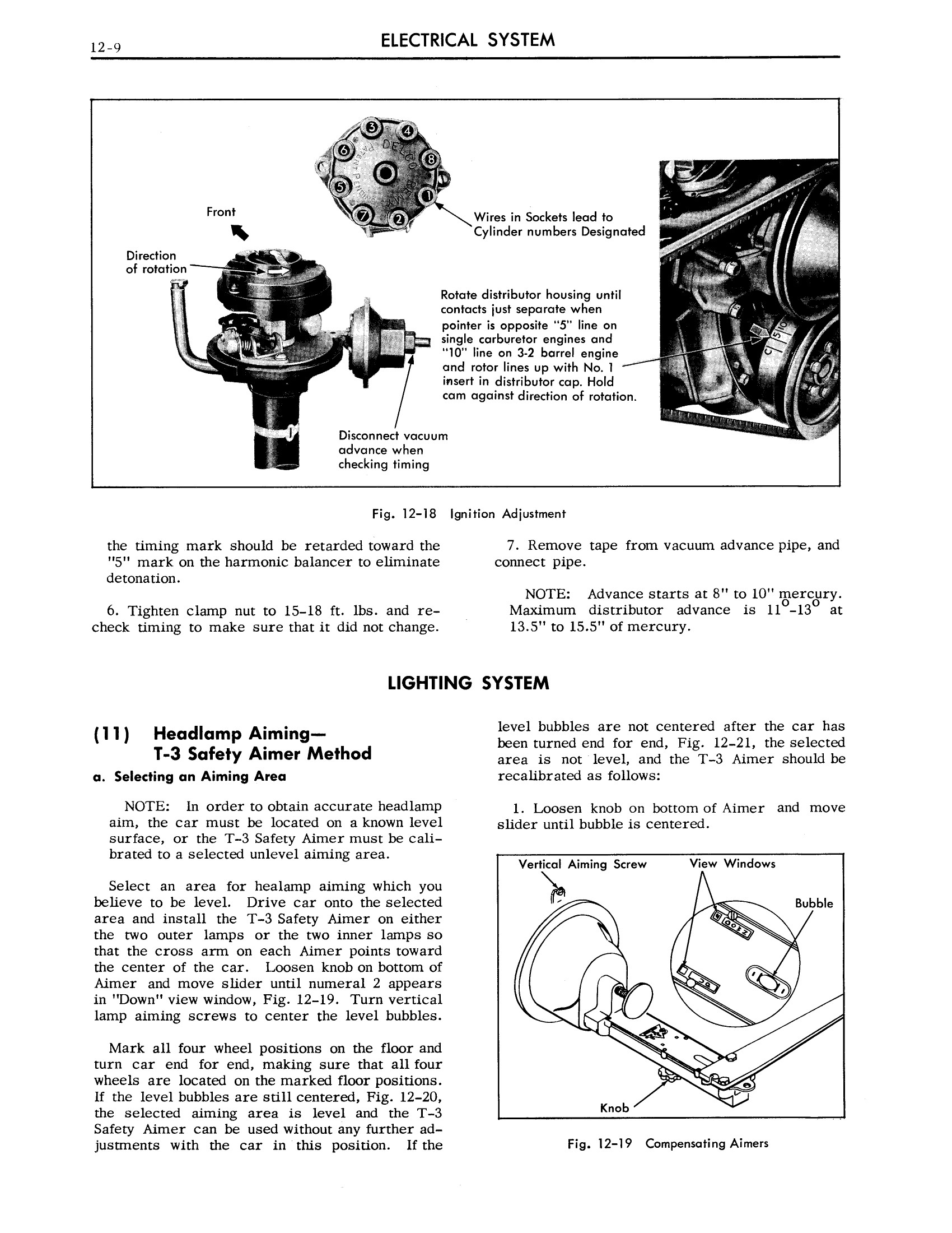1958 Cadillac Shop Manual- Electrical System Page 9 of 23