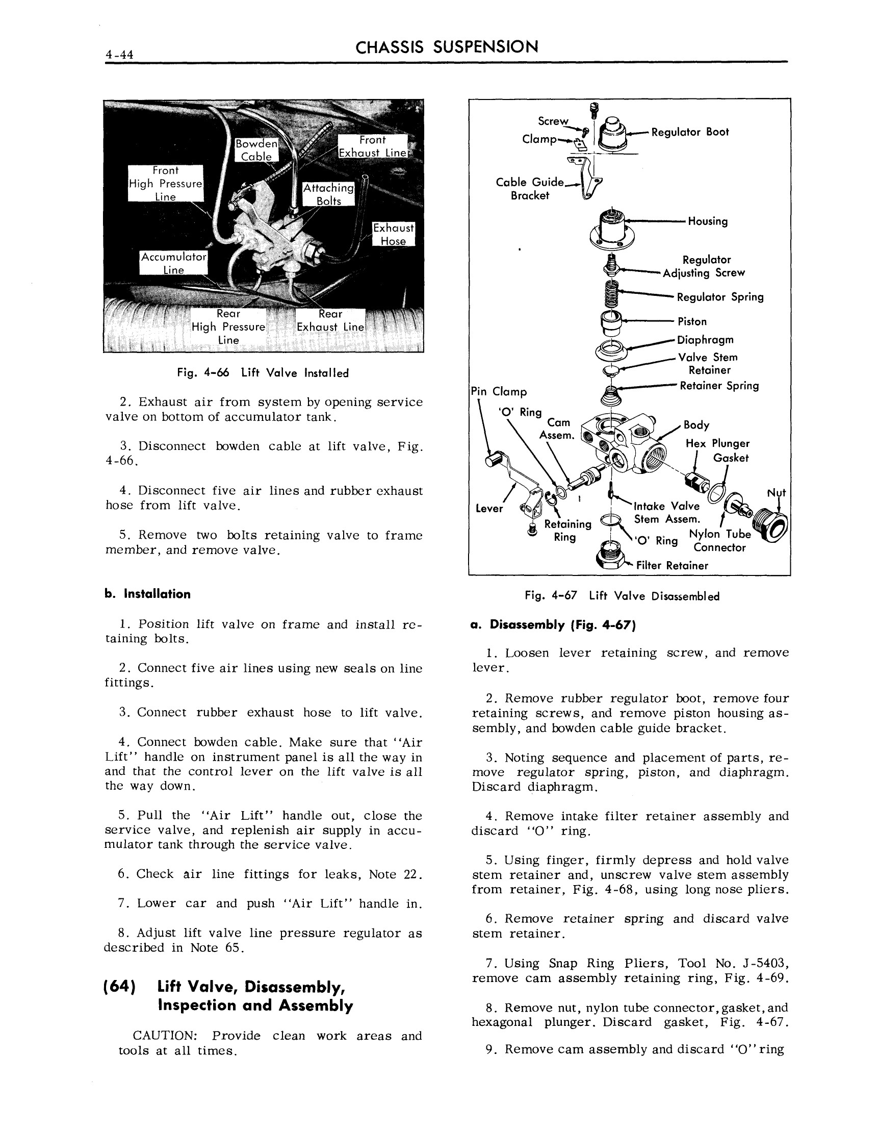 1959 Cadillac Shop Manual- Chassis Suspension Page 44 of 57