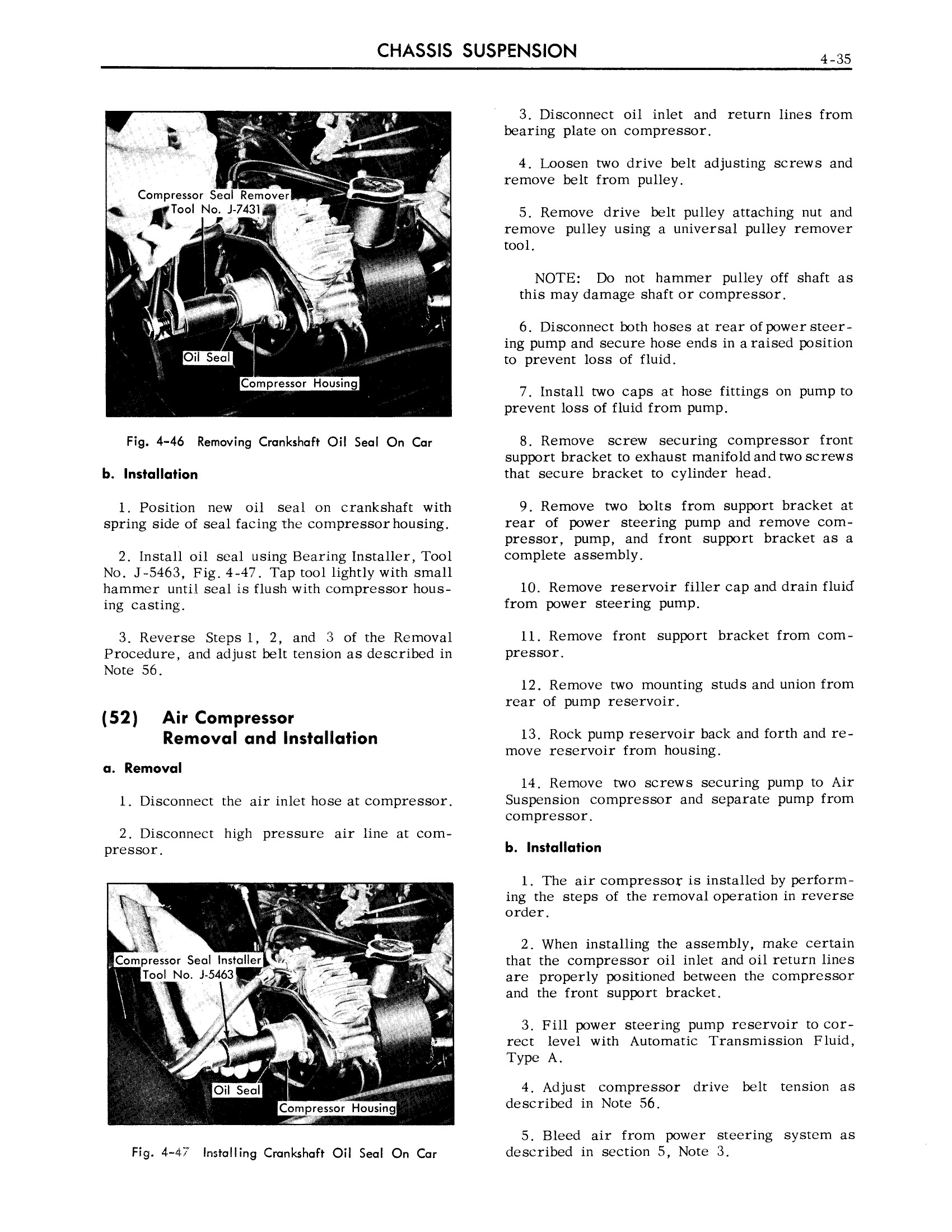 1959 Cadillac Shop Manual- Chassis Suspension Page 35 of 57