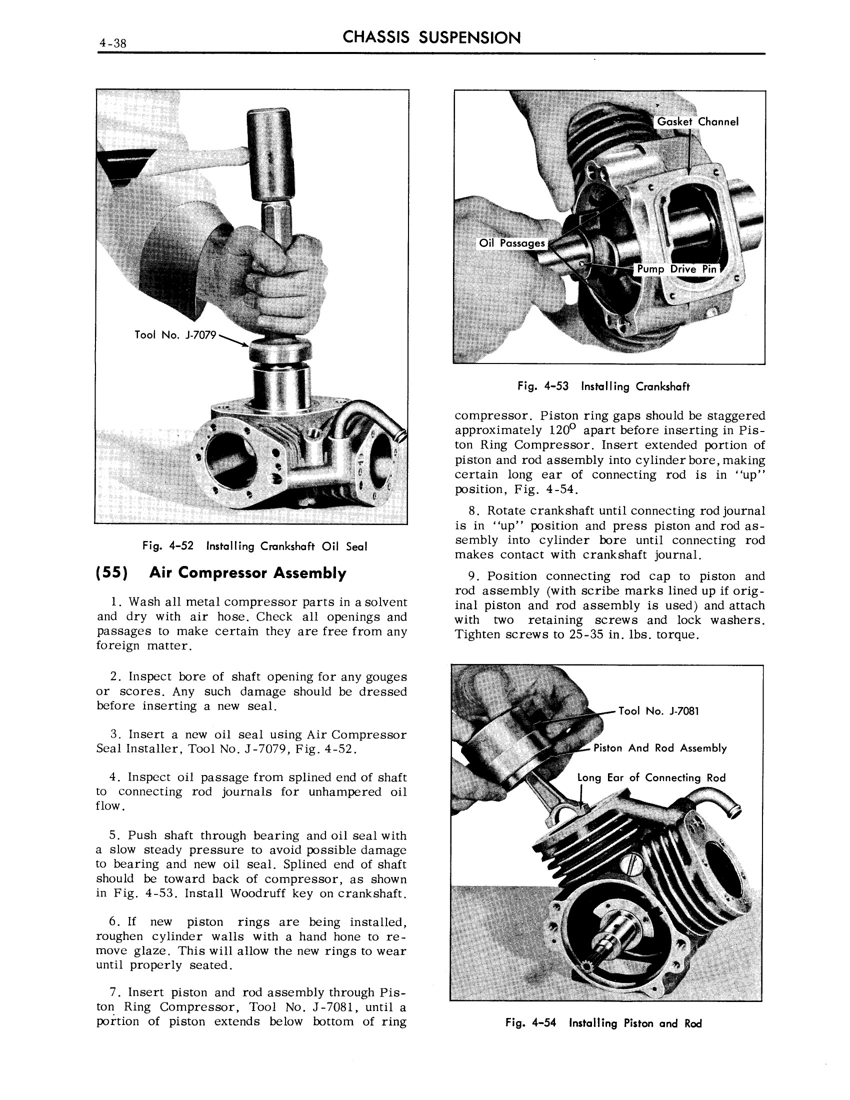 1959 Cadillac Shop Manual- Chassis Suspension Page 38 of 57