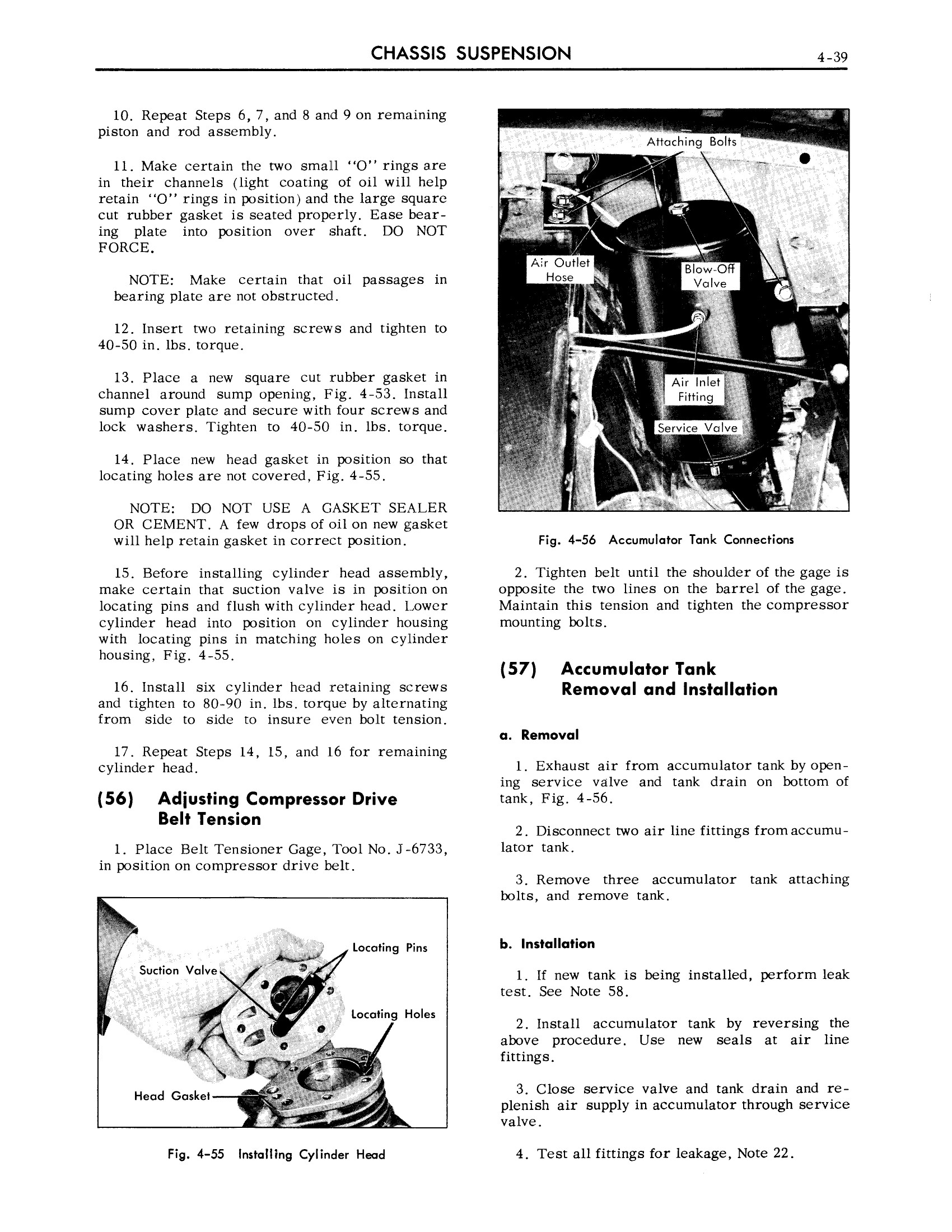1959 Cadillac Shop Manual- Chassis Suspension Page 39 of 57