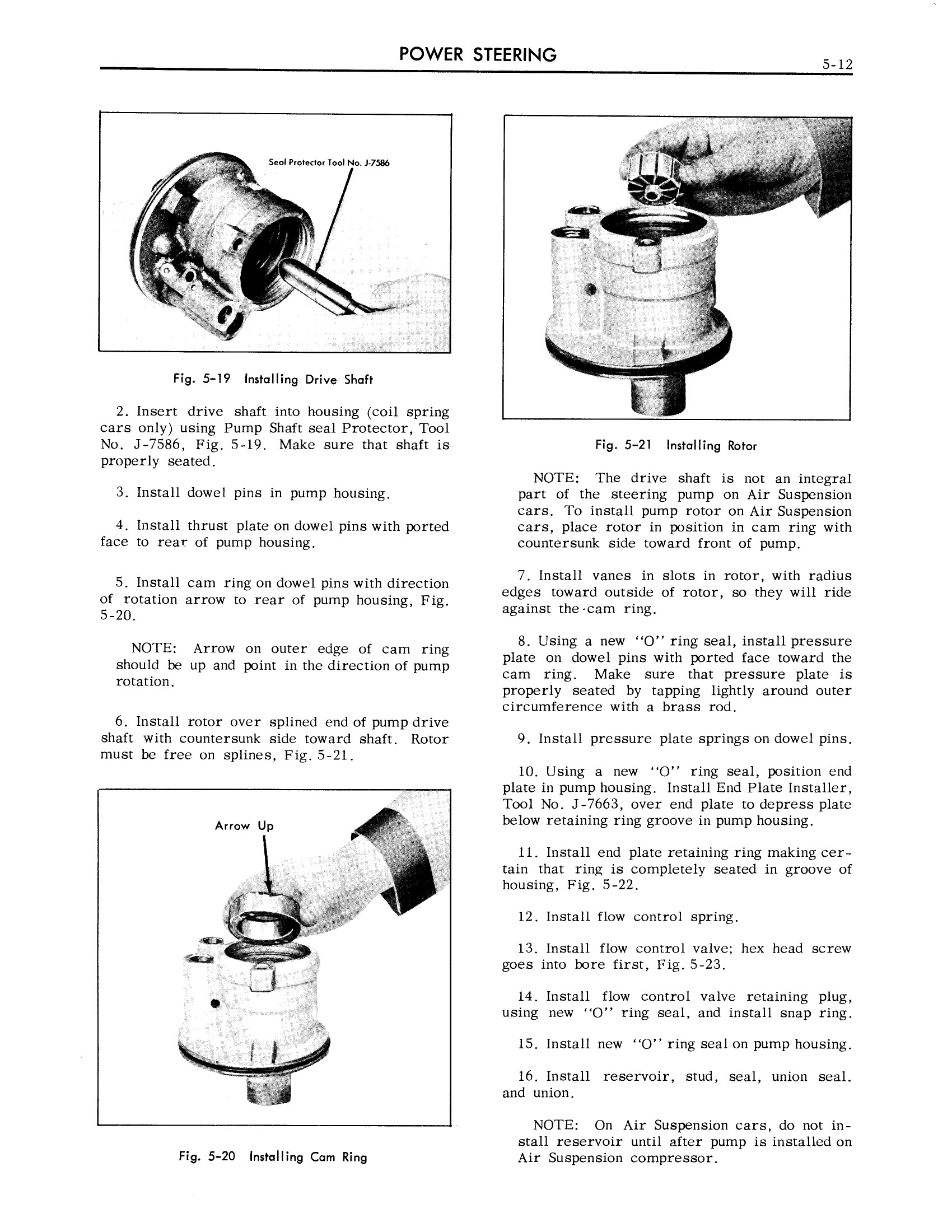 1959 Cadillac Shop Manual- Power Steering Page 12 of 31