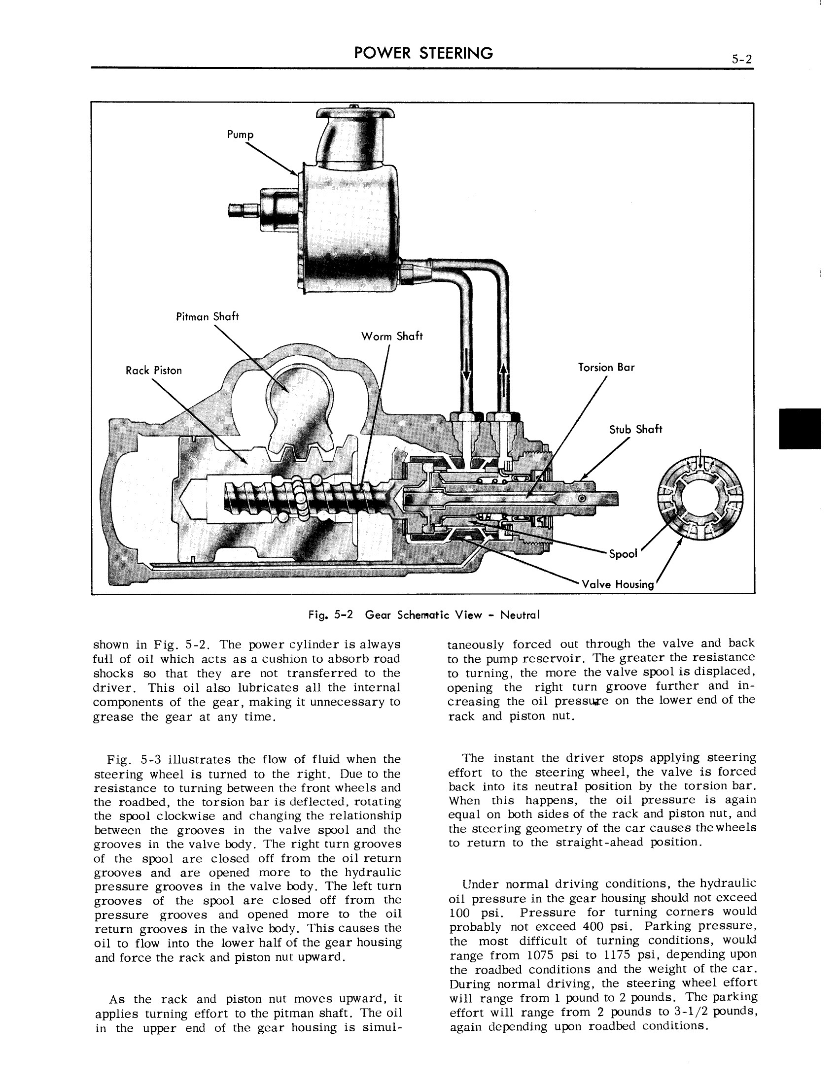 1959 Cadillac Shop Manual- Power Steering Page 2 of 31