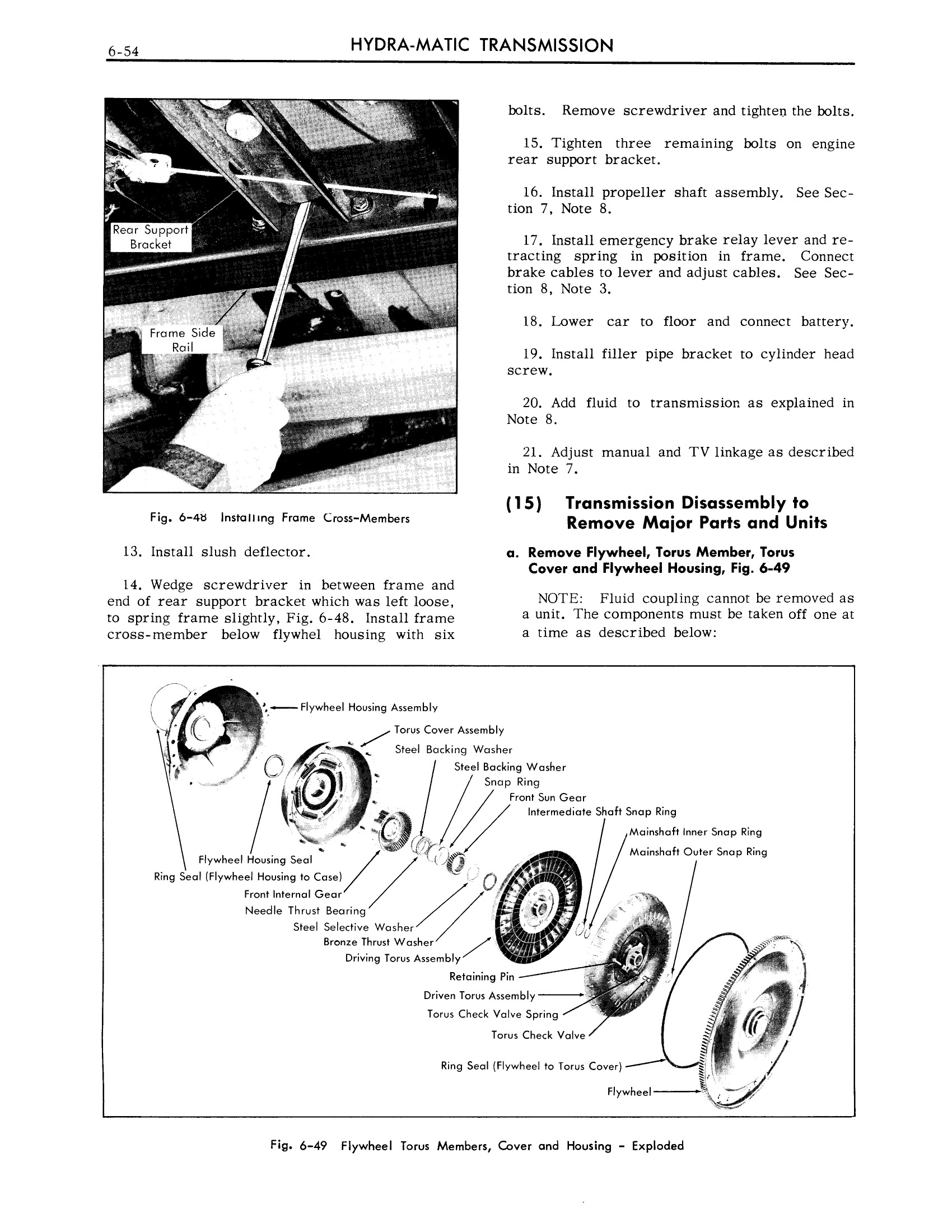 1959 Cadillac Shop Manual- Hydra-Matic Page 54 of 89