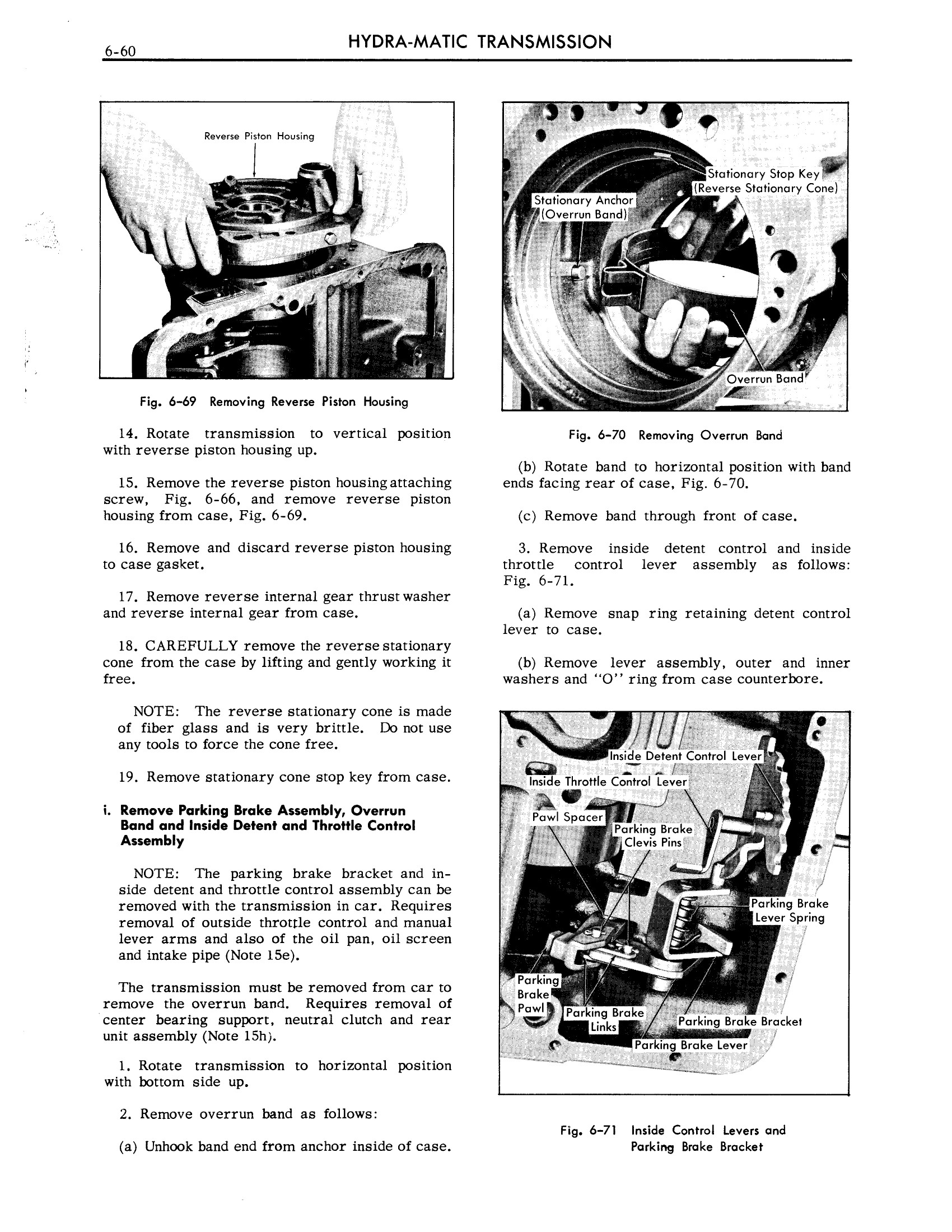1959 Cadillac Shop Manual- Hydra-Matic Page 60 of 89