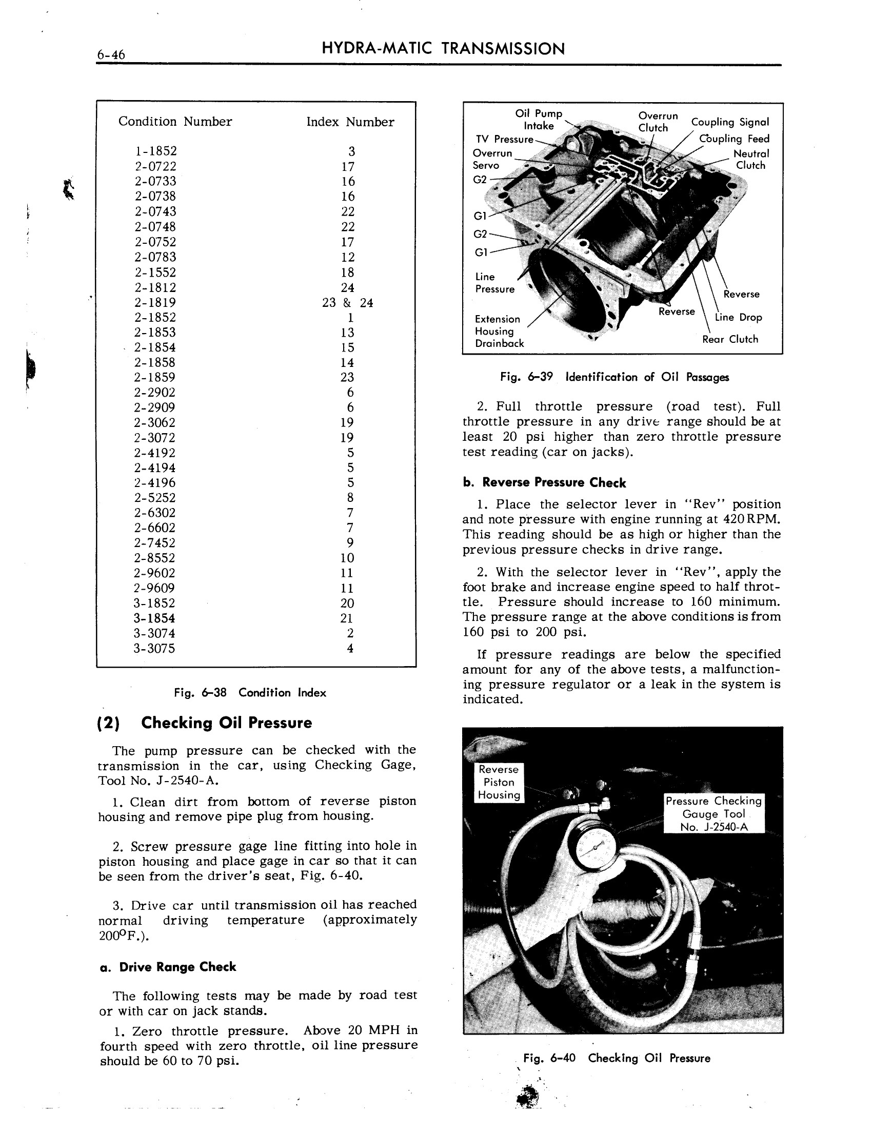 1959 Cadillac Shop Manual- Hydra-Matic Page 46 of 89