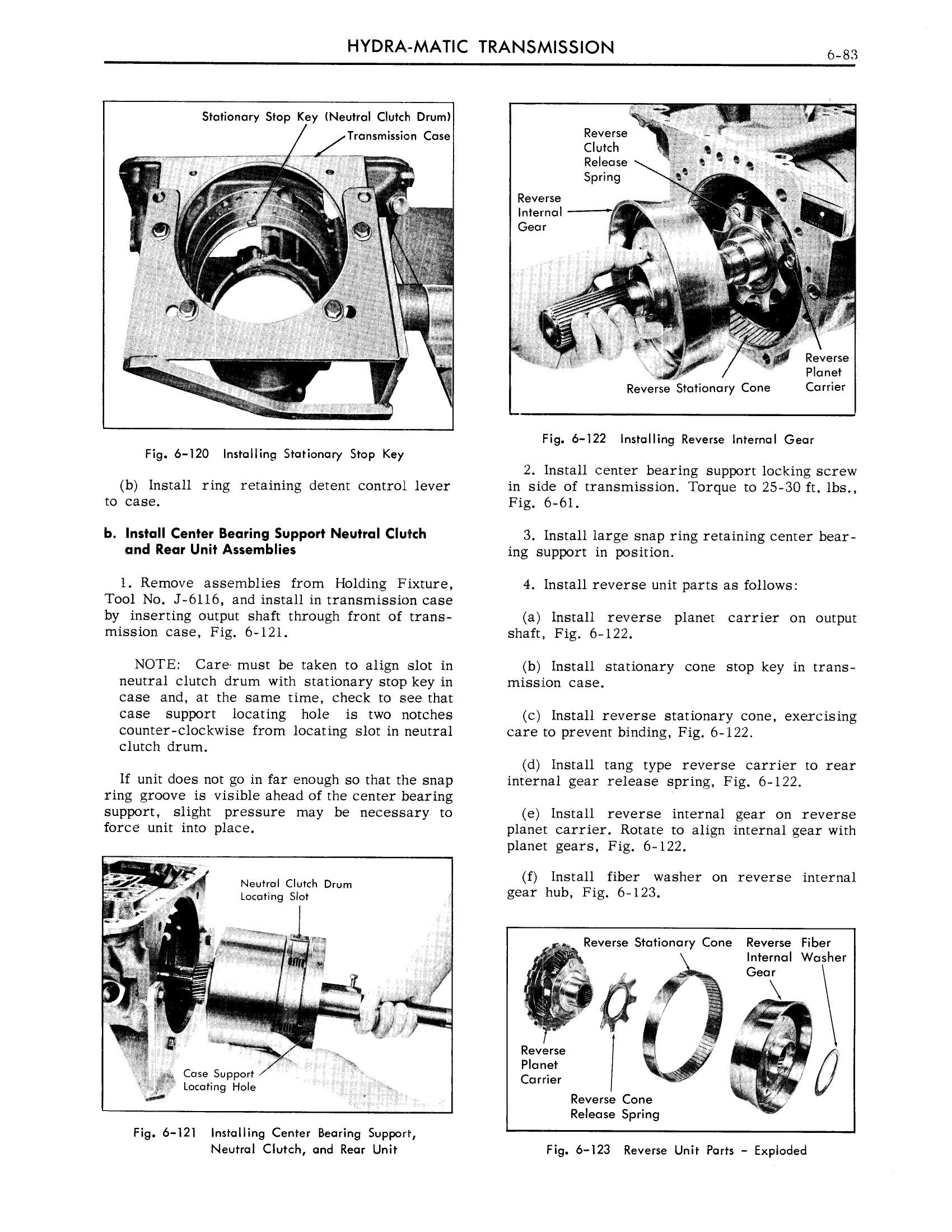 1959 Cadillac Shop Manual- Hydra-Matic Page 83 of 89