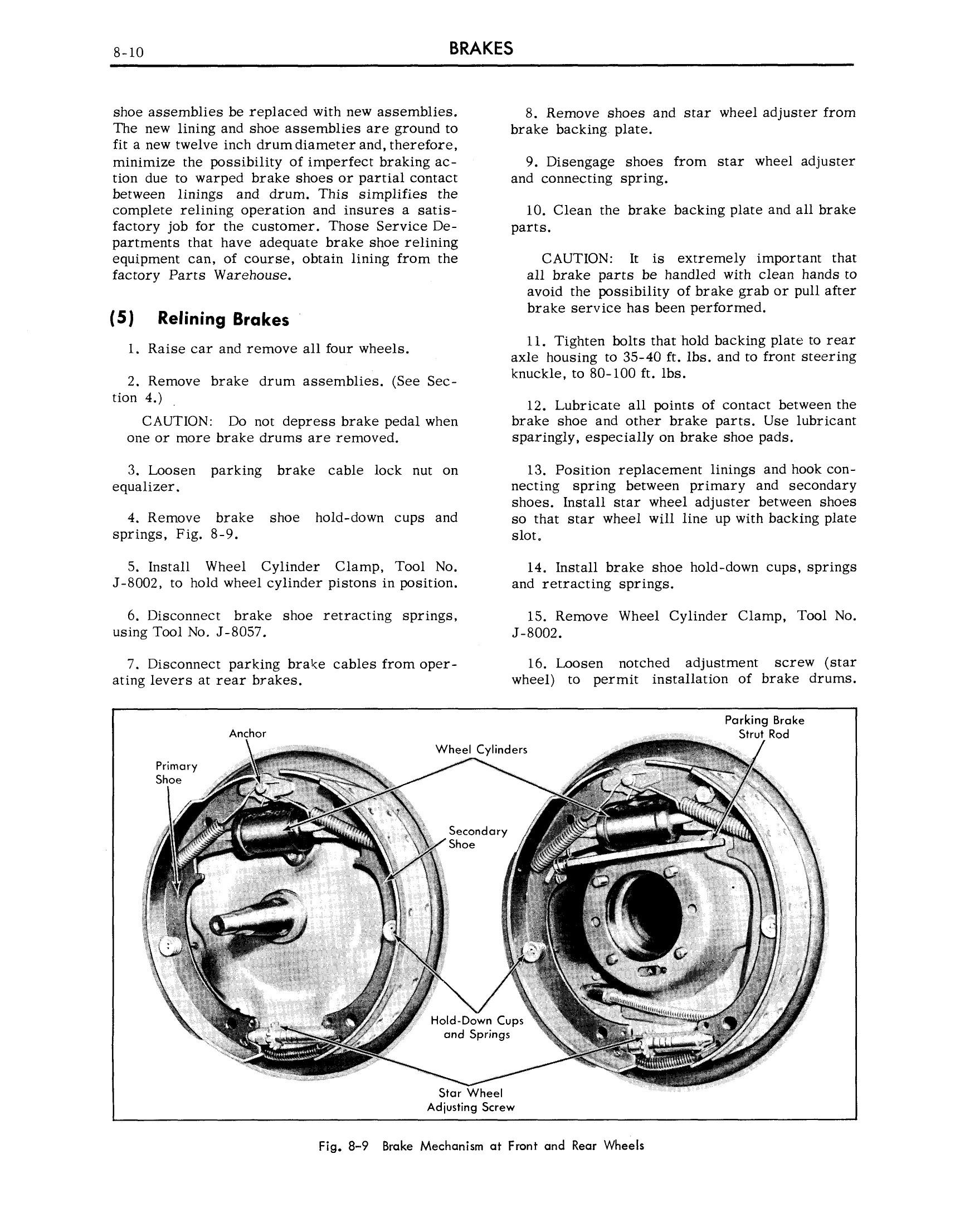1959 Cadillac Shop Manual- Brakes Page 10 of 26