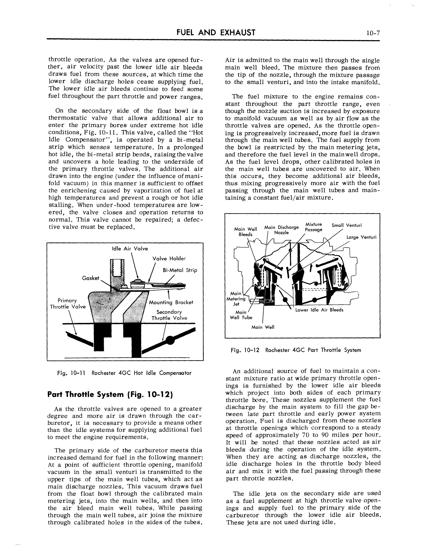 1959 Cadillac Shop Manual- Engine Fuel and Exhaust Page 7