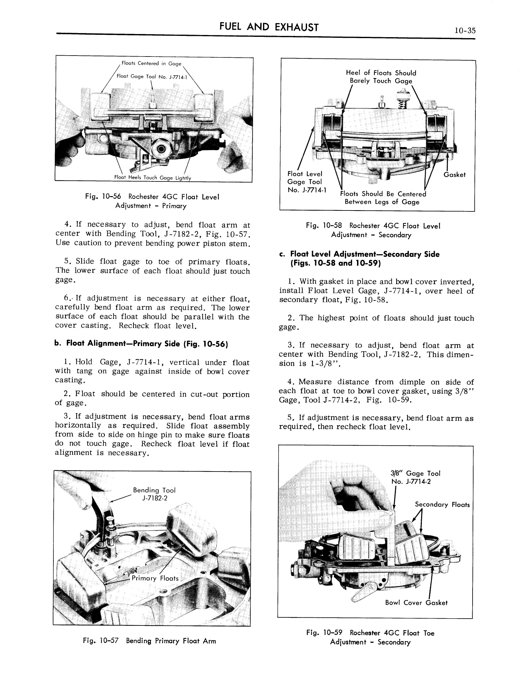 1959 Cadillac Shop Manual- Engine Fuel and Exhaust Page 35