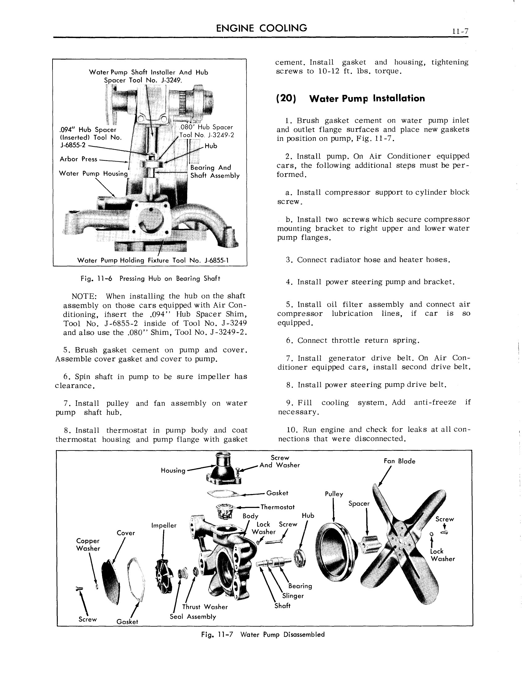 1959 Cadillac Shop Manual- Cooling Systems Page 7 of 9