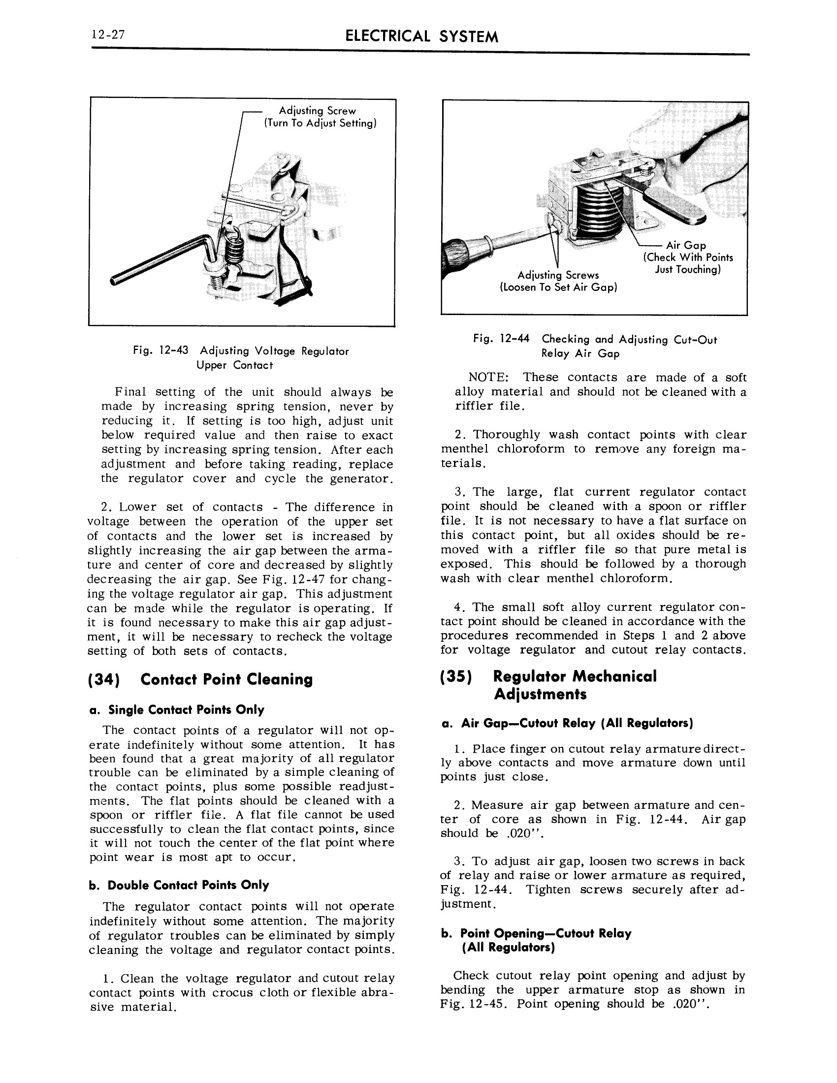 1959 Cadillac Shop Manual- Electrical System Page 27 of 49