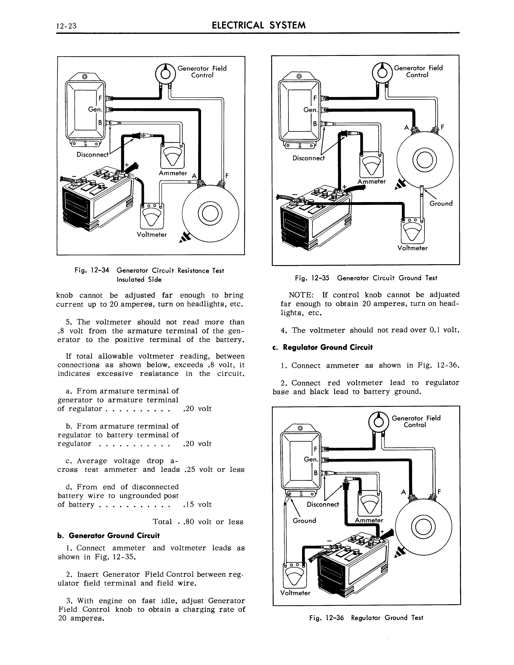 1959 Cadillac Shop Manual- Electrical System Page 23 of 49