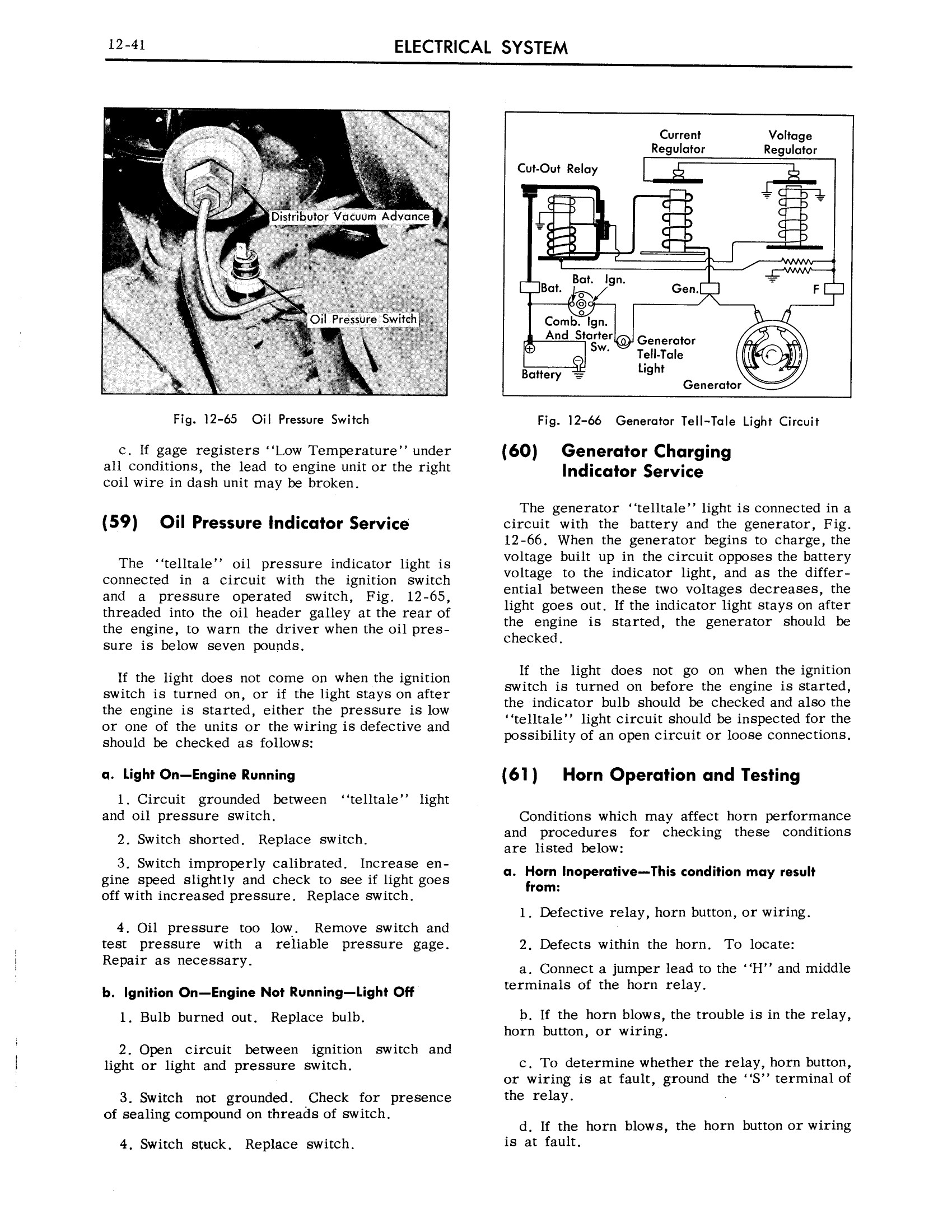 1959 Cadillac Shop Manual- Electrical System Page 41 of 49