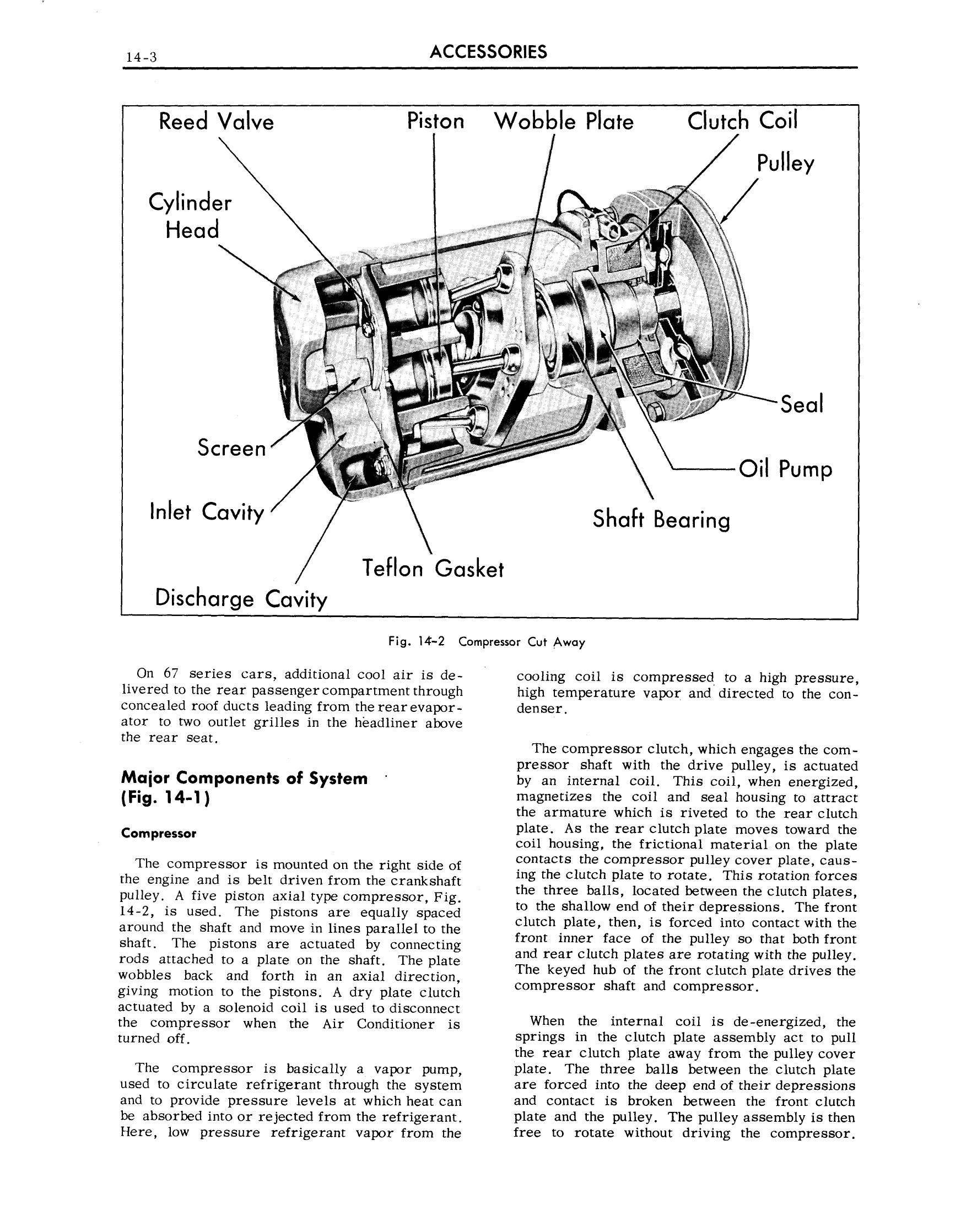 1959 Cadillac Shop Manual- Accessories Page 3 of 58