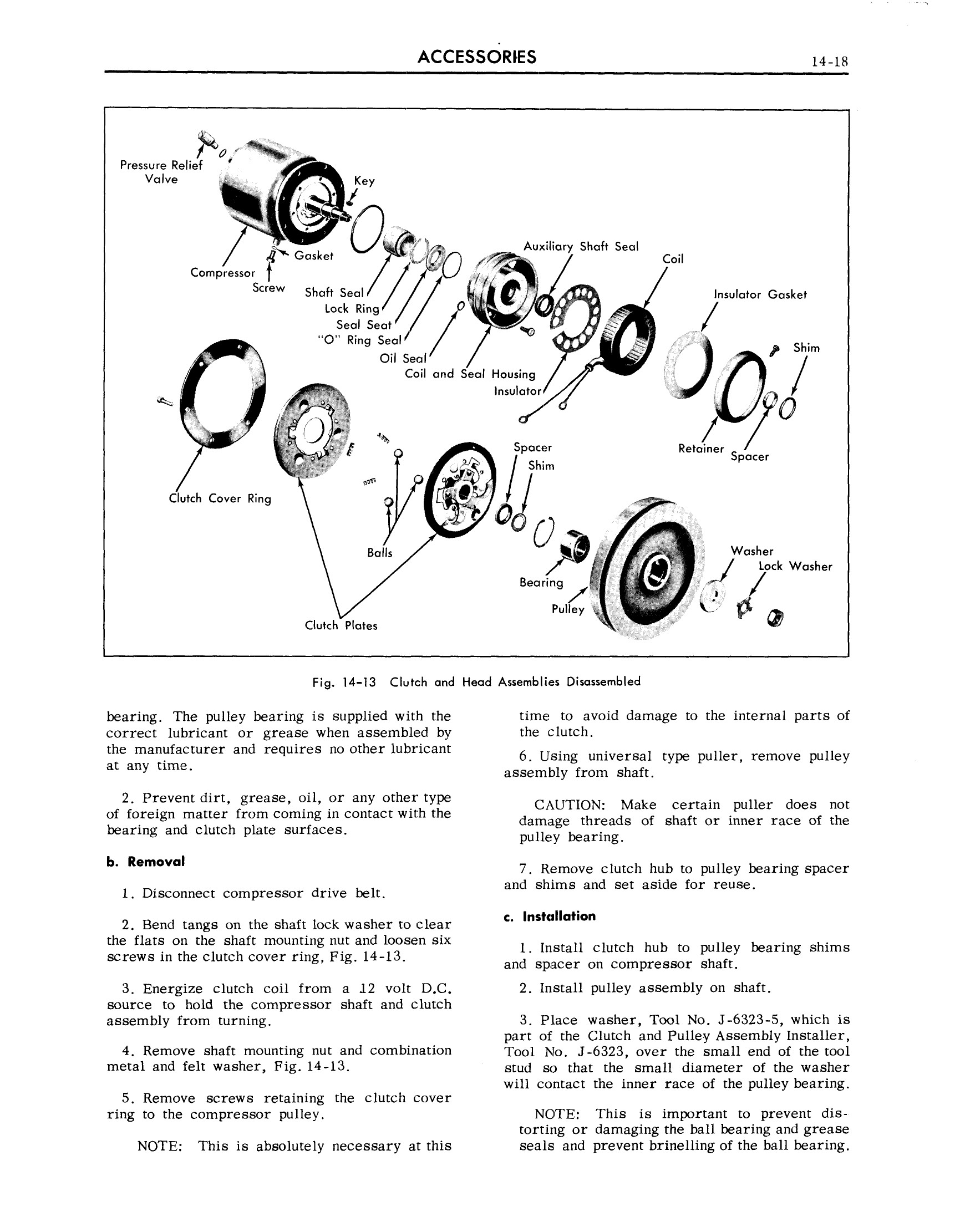 1959 Cadillac Shop Manual- Accessories Page 18 of 58