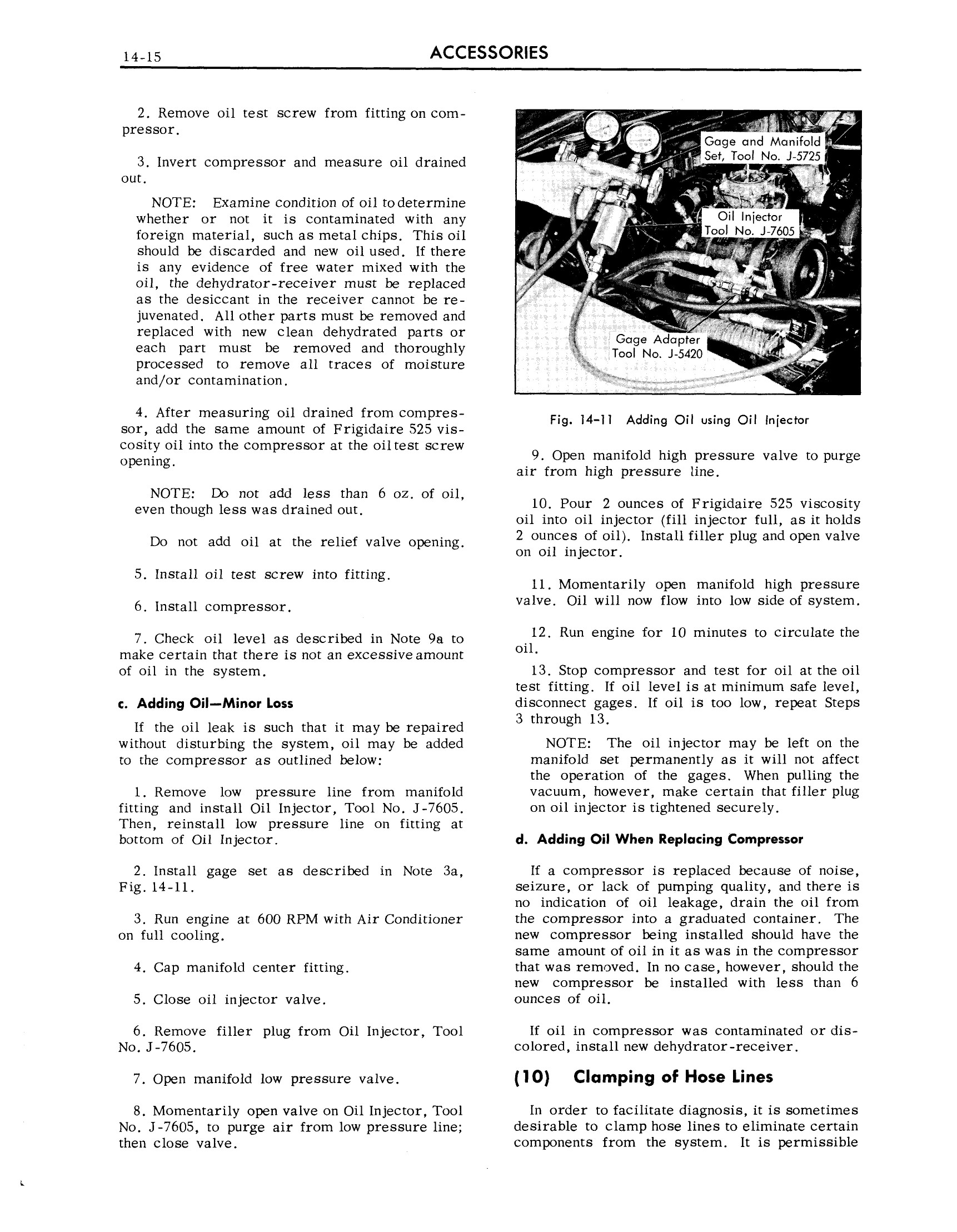 1959 Cadillac Shop Manual- Accessories Page 15 of 58