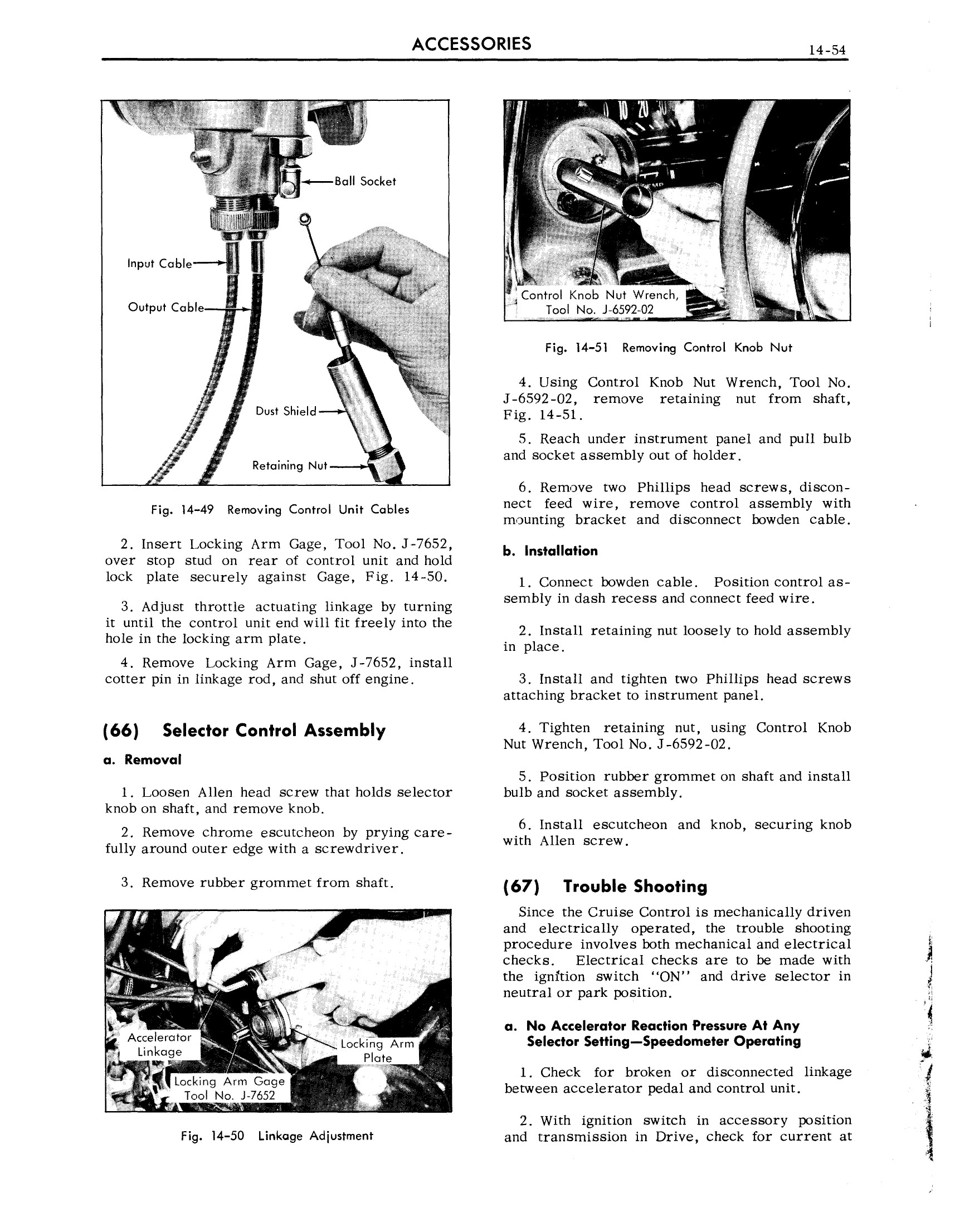 1959 Cadillac Shop Manual- Accessories Page 54 of 58