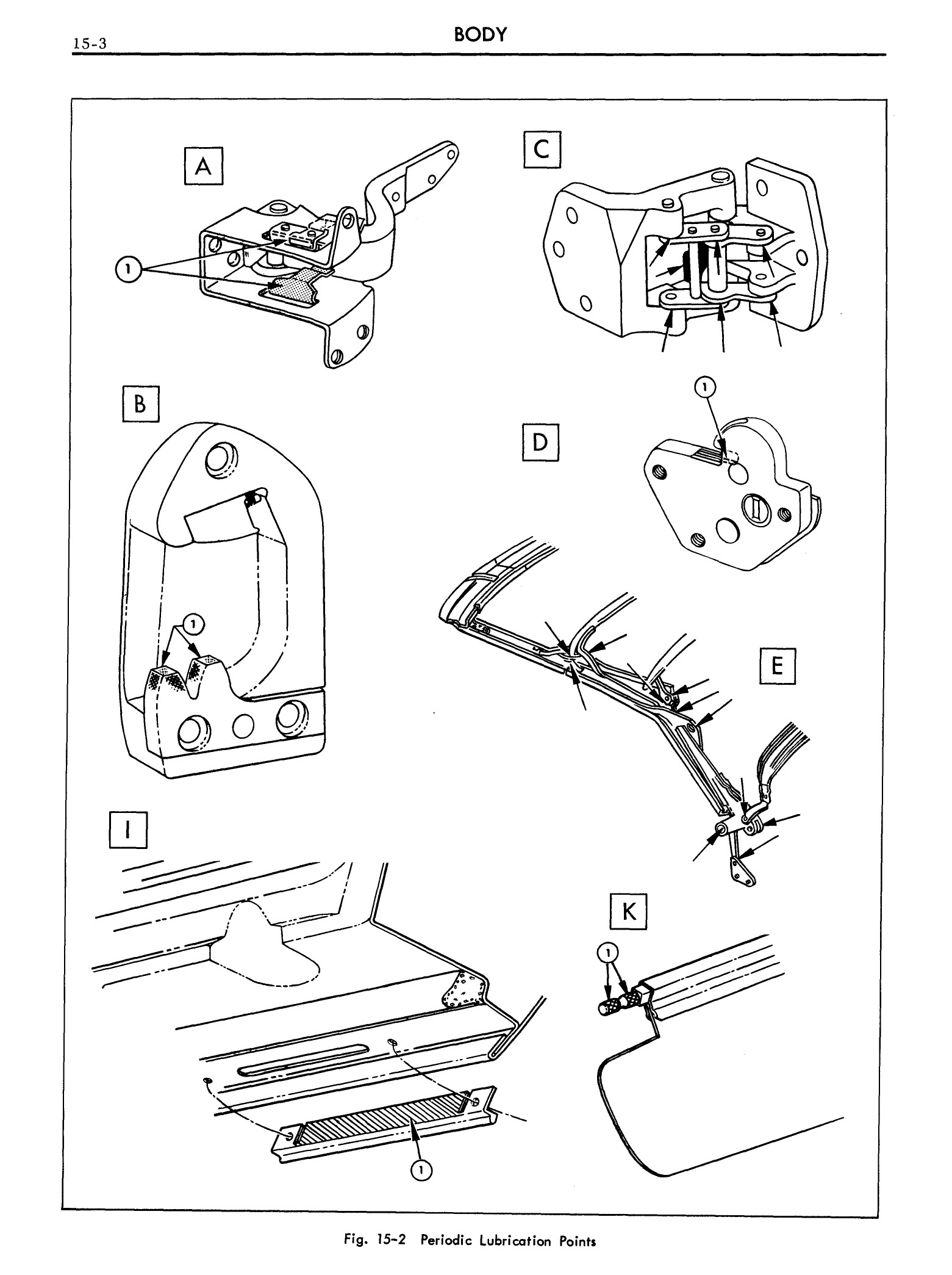 1959 Cadillac Shop Manual- Body Page 3 of 99