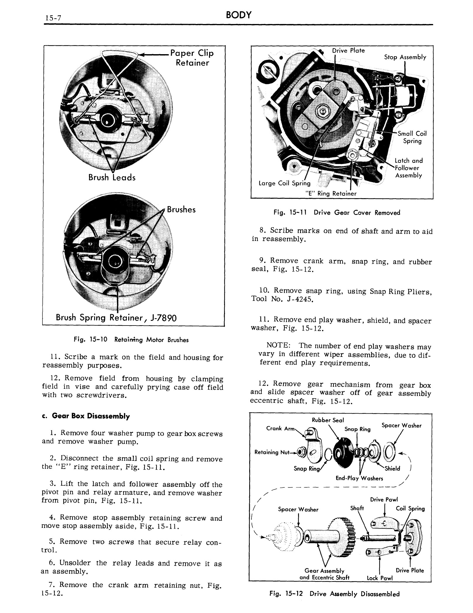 1959 Cadillac Shop Manual- Body Page 7 of 99