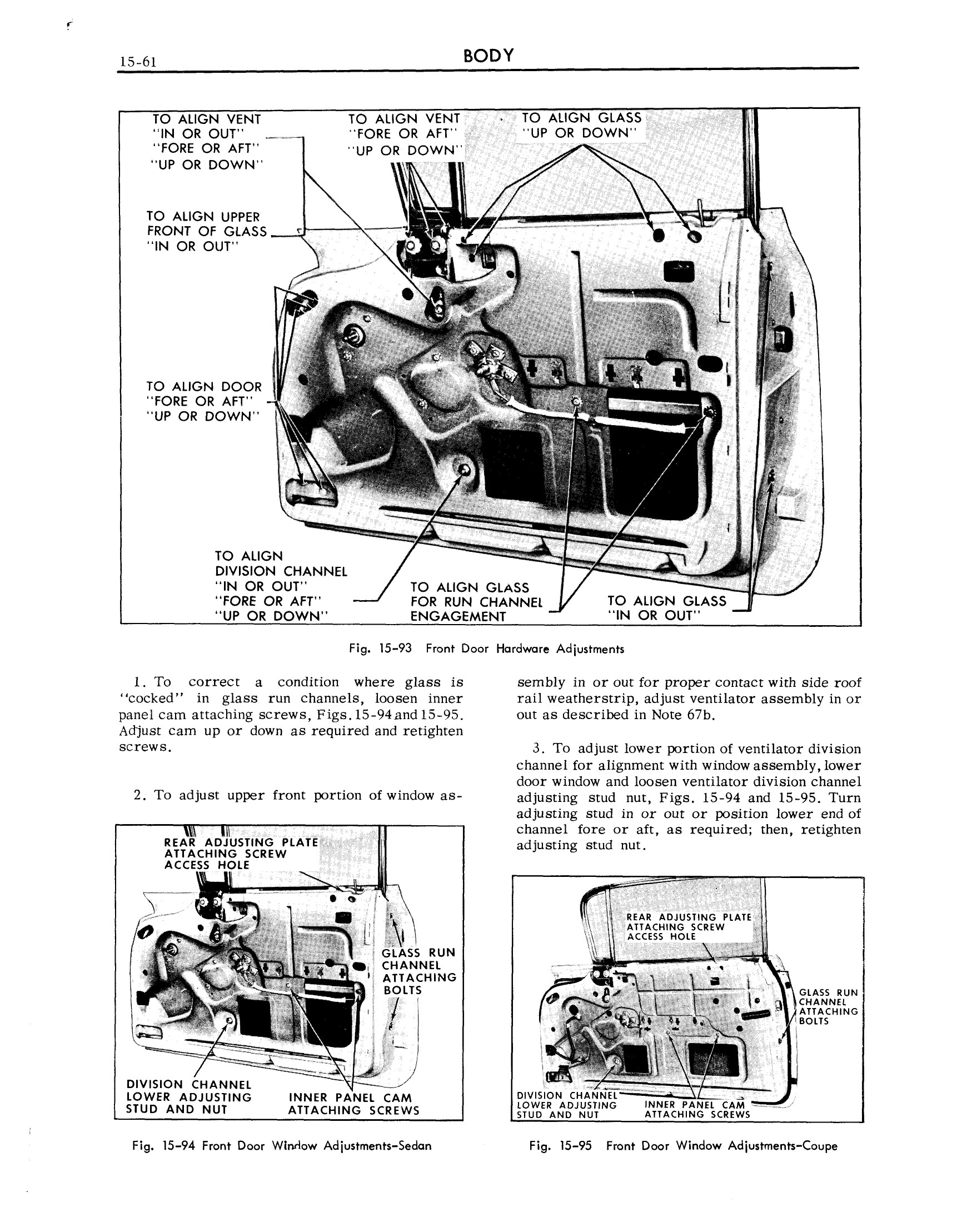 1959 Cadillac Shop Manual- Body Page 61 of 99