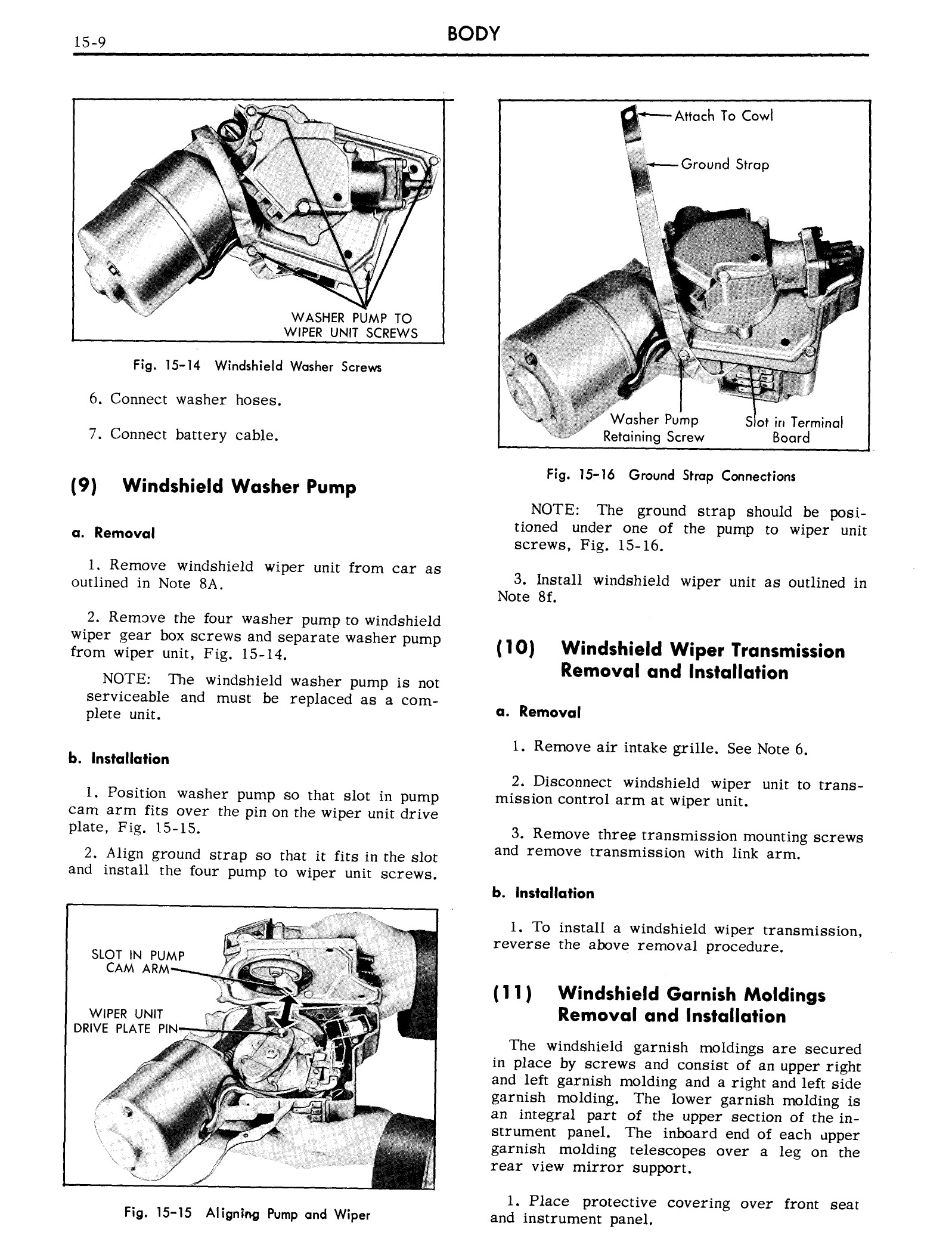 1959 Cadillac Shop Manual- Body Page 9 of 99