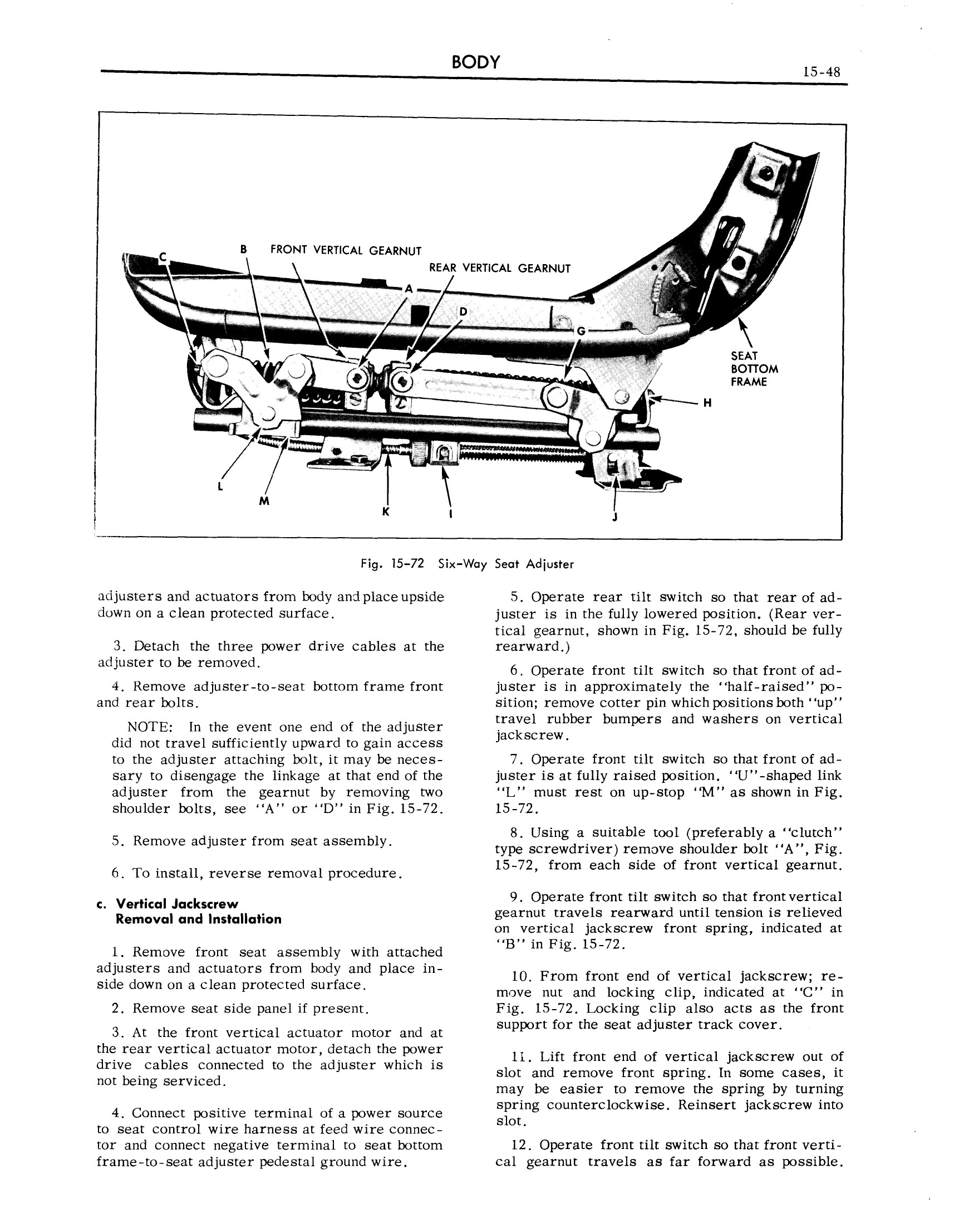 1959 Cadillac Shop Manual- Body Page 48 of 99