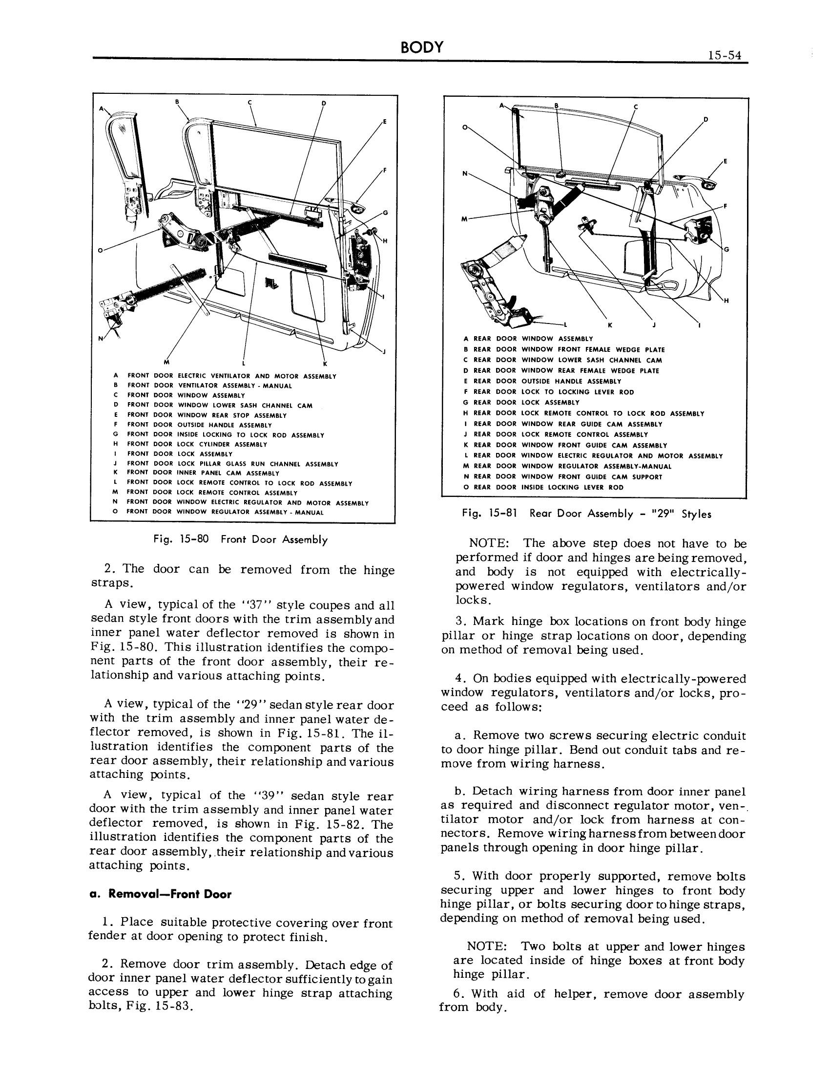 1959 Cadillac Shop Manual- Body Page 54 of 99