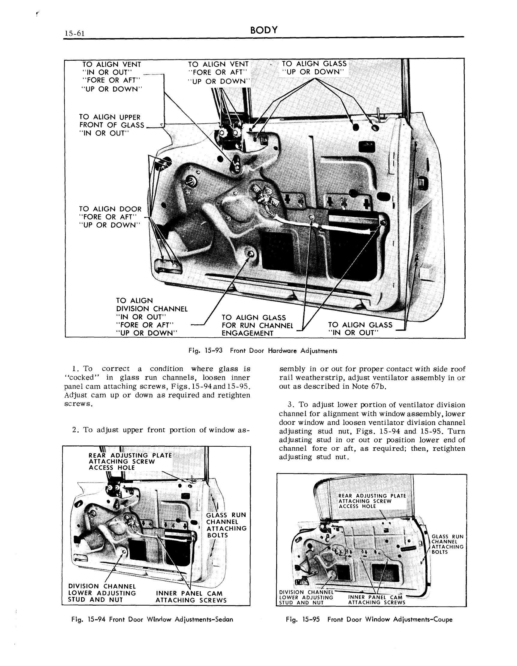 1959 Cadillac Shop Manual- Body Page 61 of 99