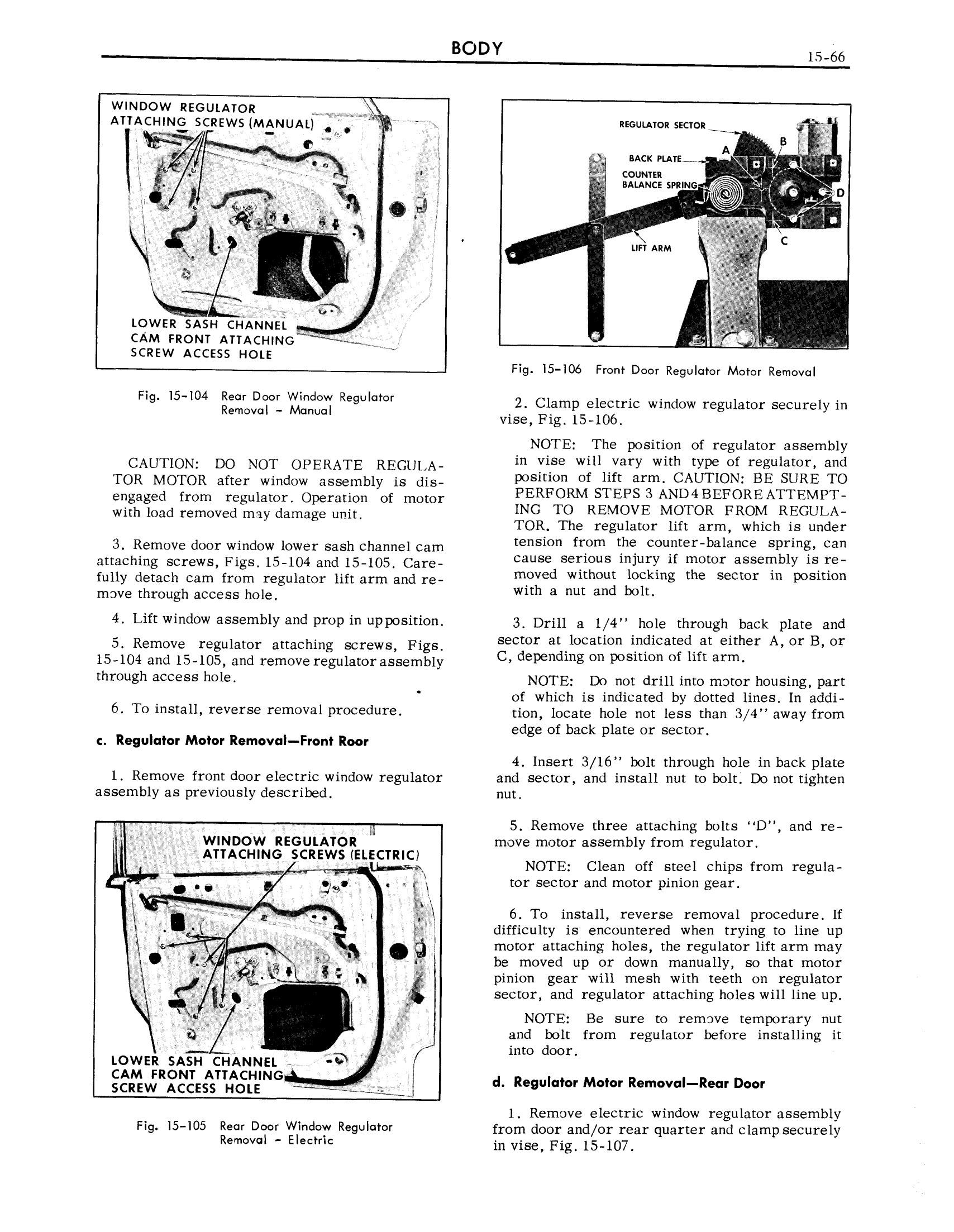 1959 Cadillac Shop Manual- Body Page 66 of 99