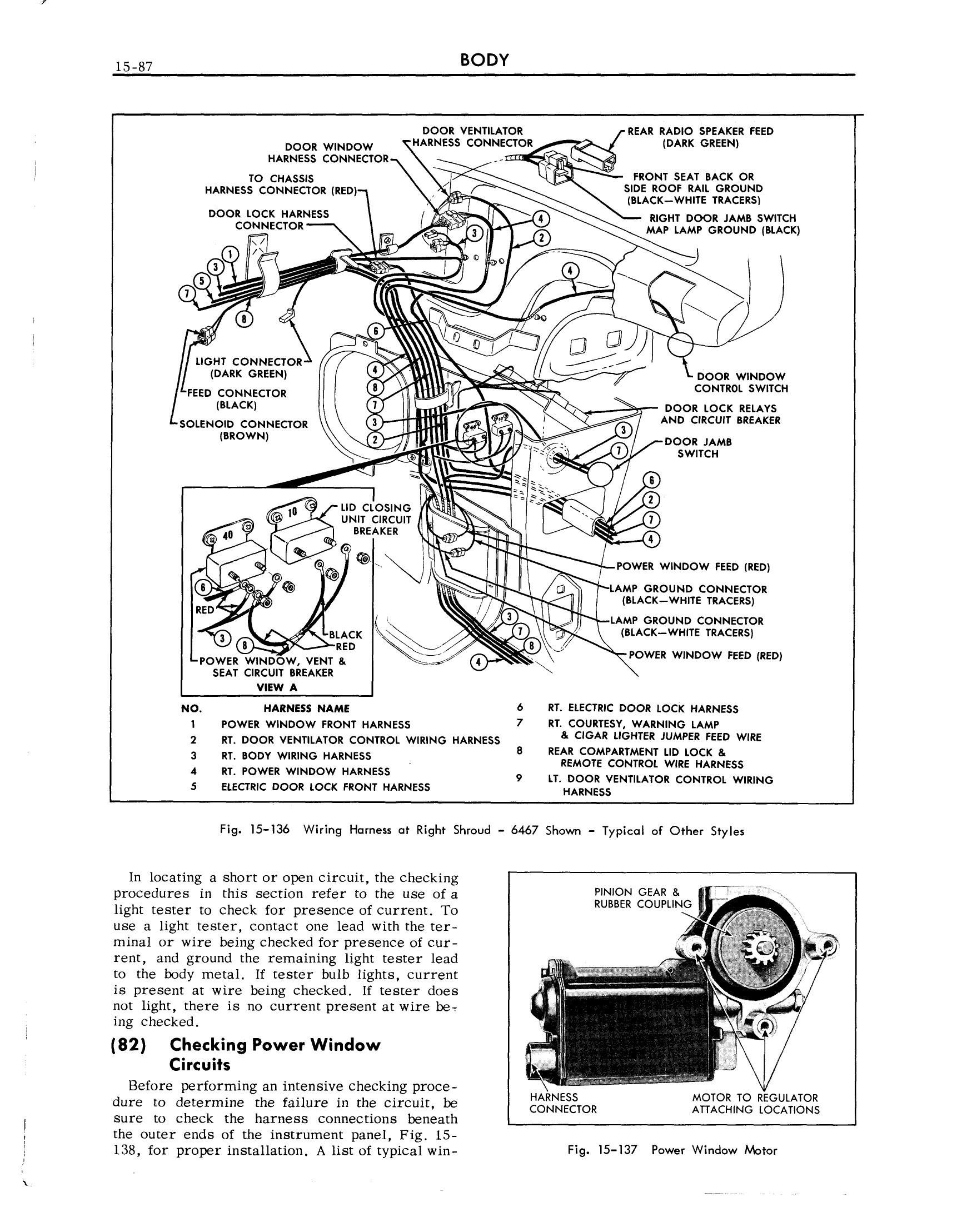 1959 Cadillac Shop Manual- Body Page 87 of 99