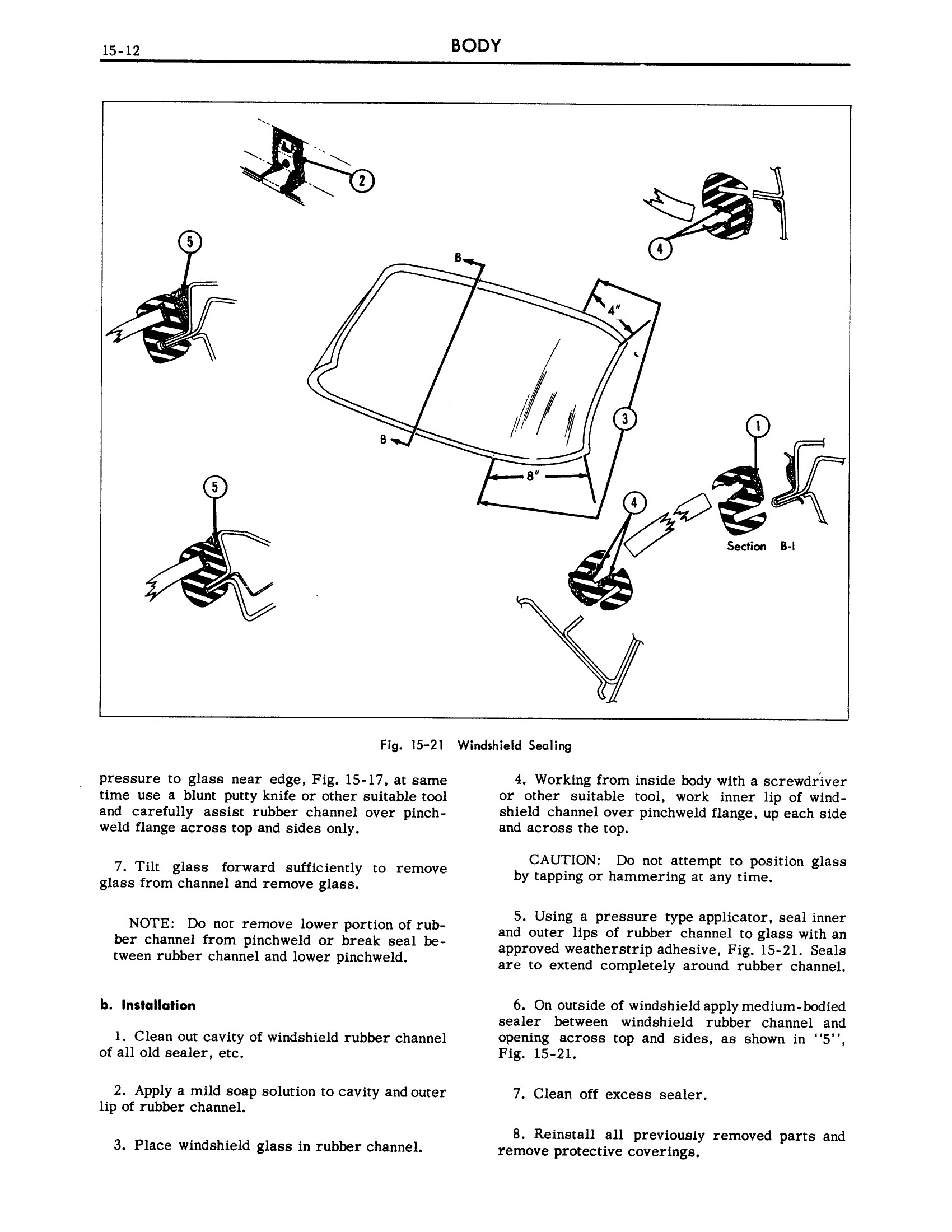 1961 Cadillac Shop Manual- Body Page 12 of 114