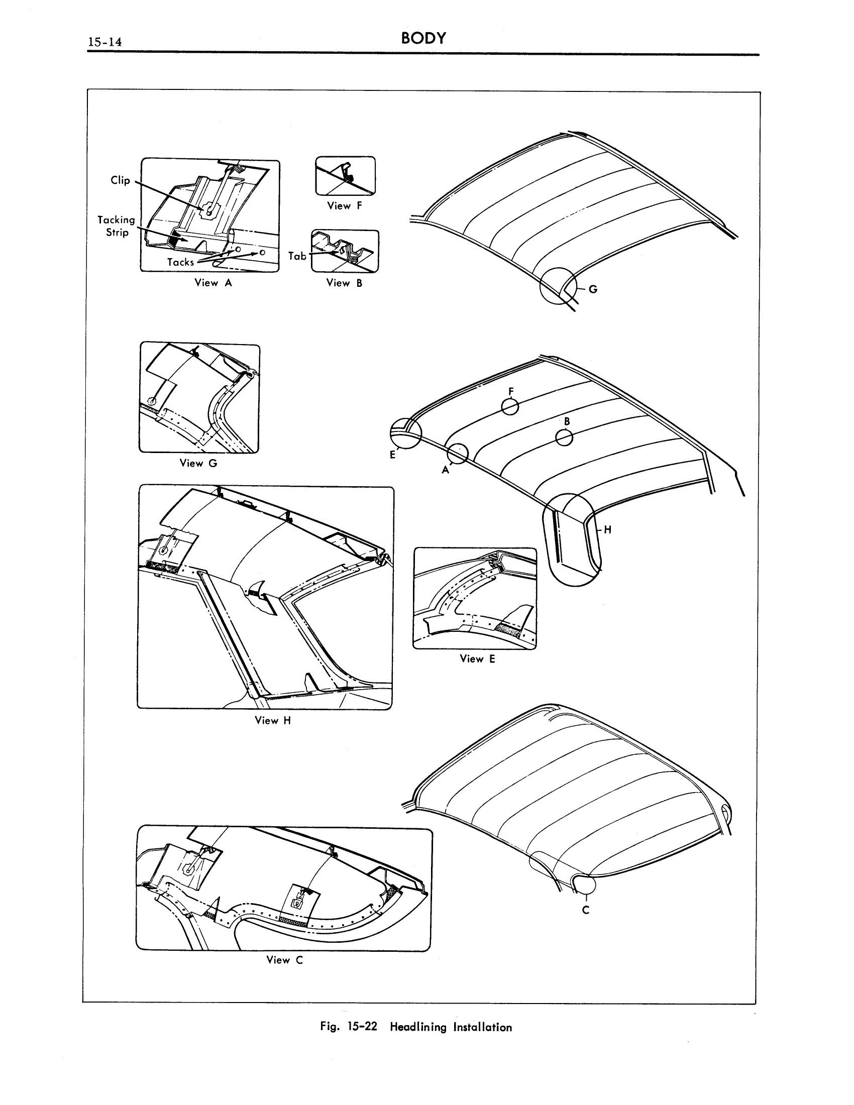 1961 Cadillac Shop Manual- Body Page 14 of 114