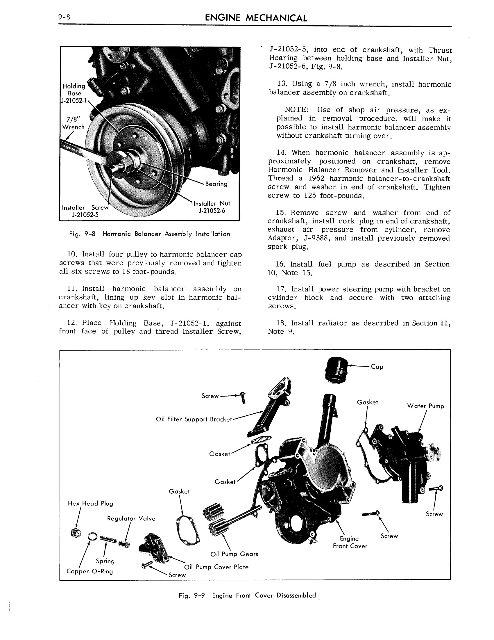1963 Cadillac Shop Manual- Engine Mechanical Page 8 of 42