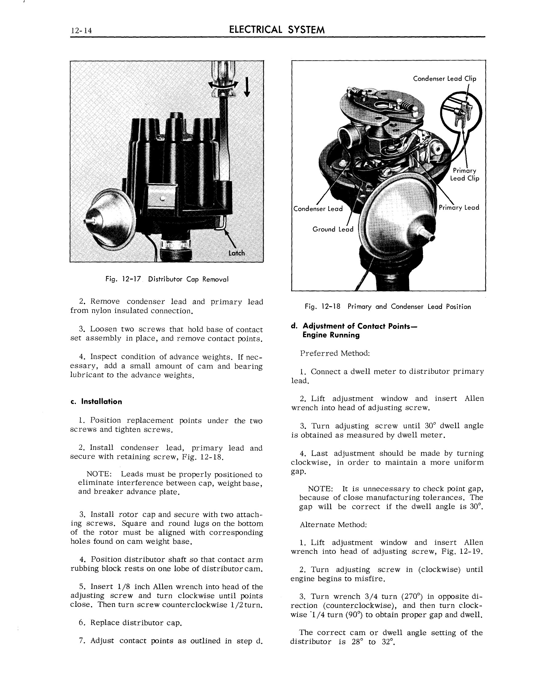 1963 Cadillac Shop Manual- Electrical System Page 14 of 100