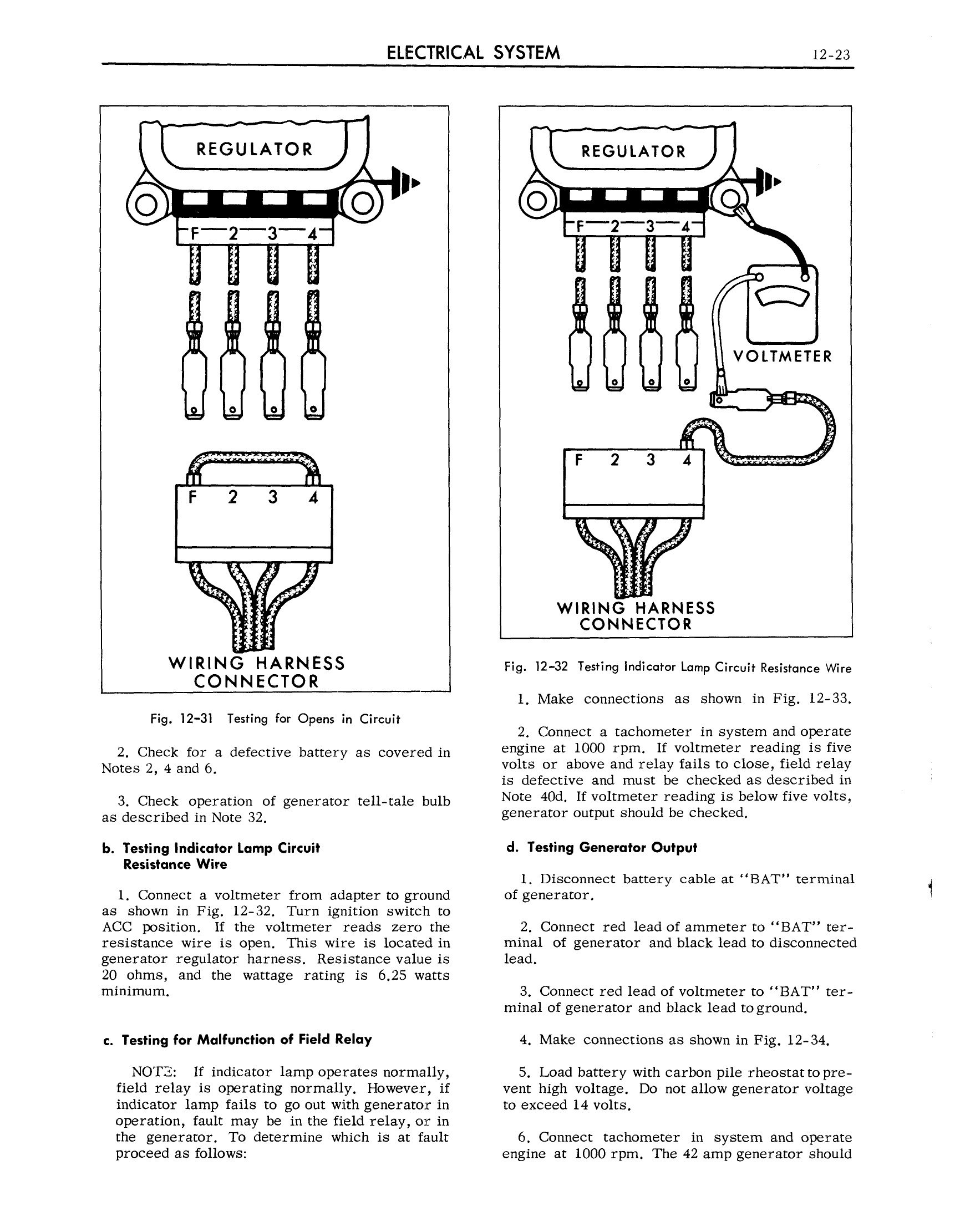 1963 Cadillac Shop Manual- Electrical System Page 23 of 100