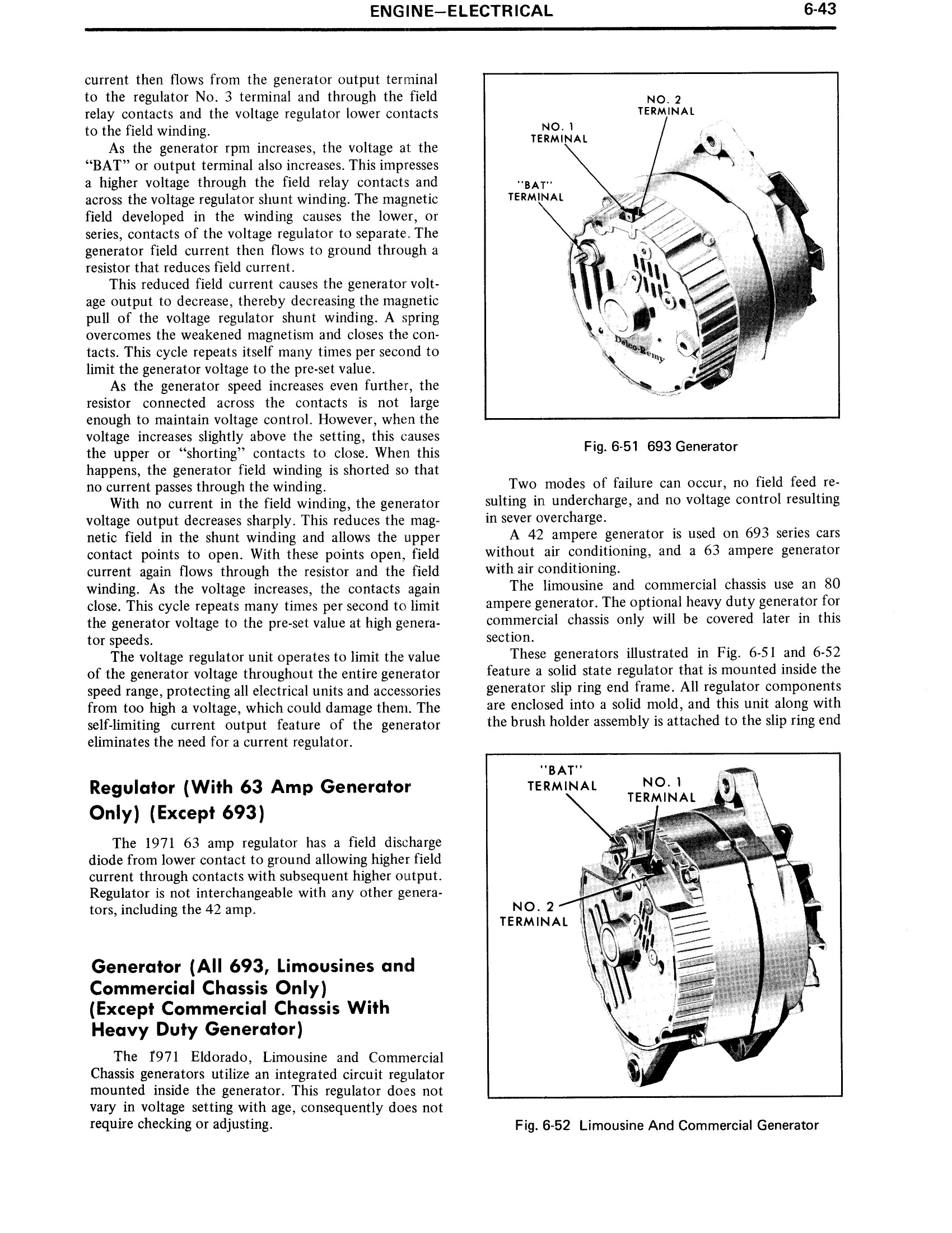 1971 Cadillac Shop Manual- Engine Page 43 of 128