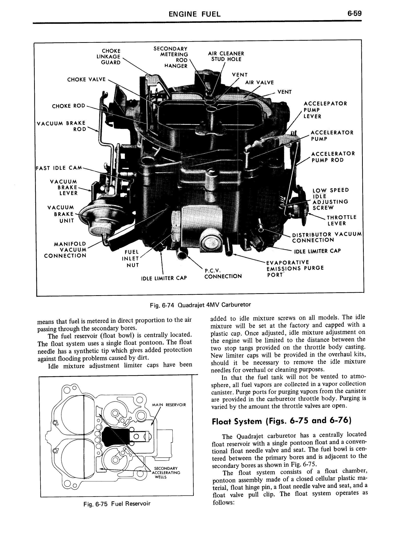 1971 Cadillac Shop Manual- Engine Page 59 of 128