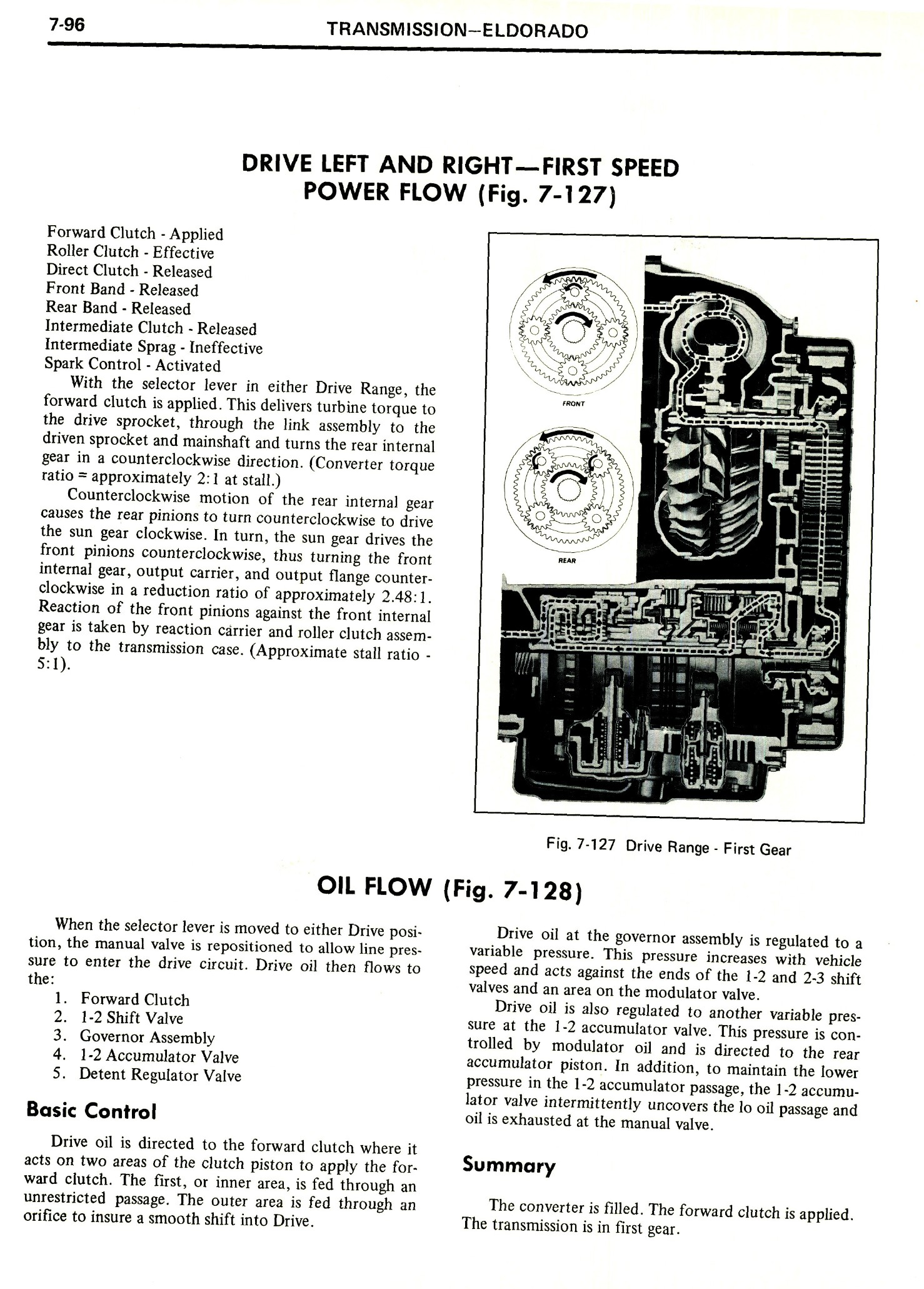 1971 Cadillac Shop Manual- Transmission Page 96 of 156
