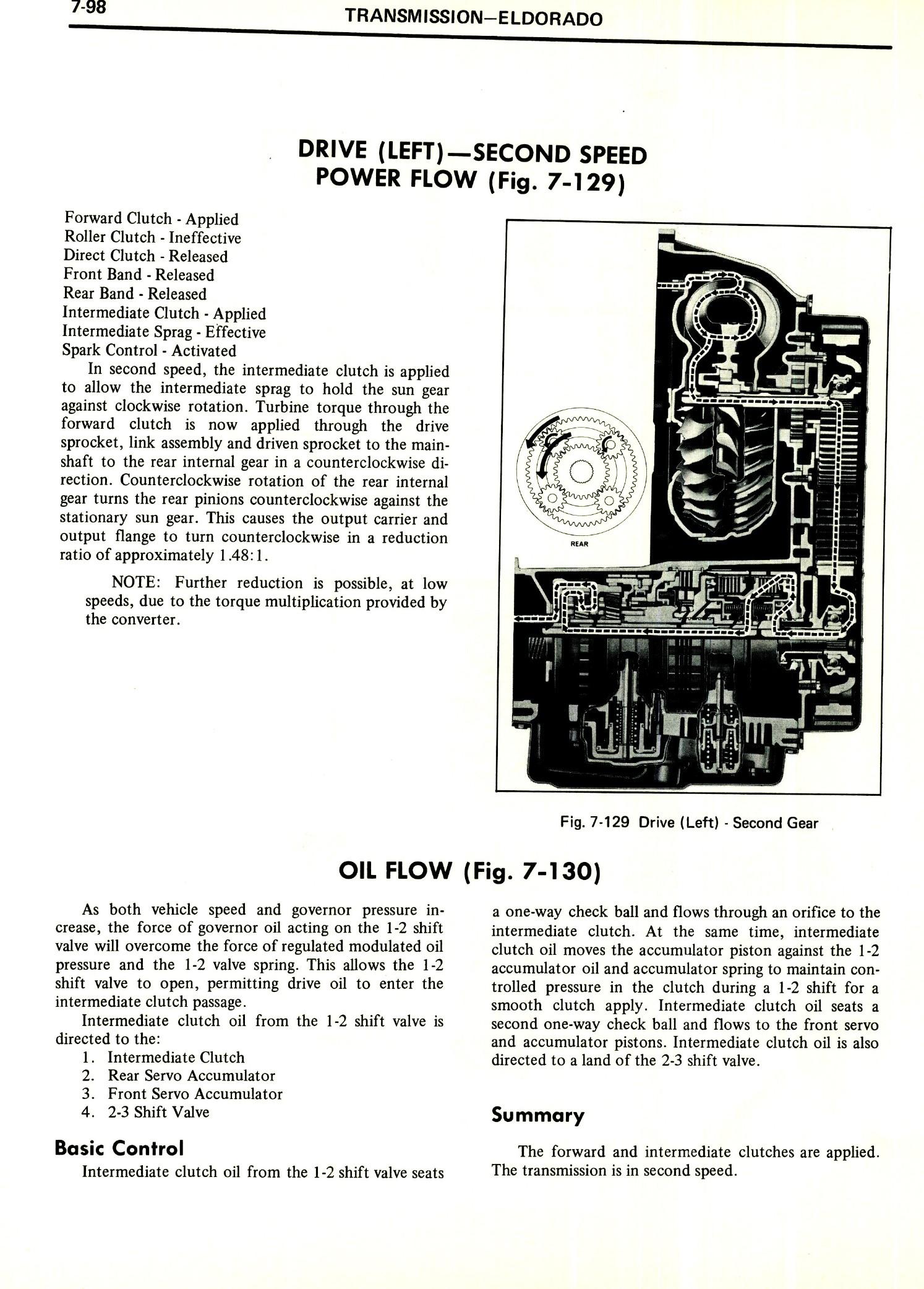 1971 Cadillac Shop Manual- Transmission Page 98 of 156